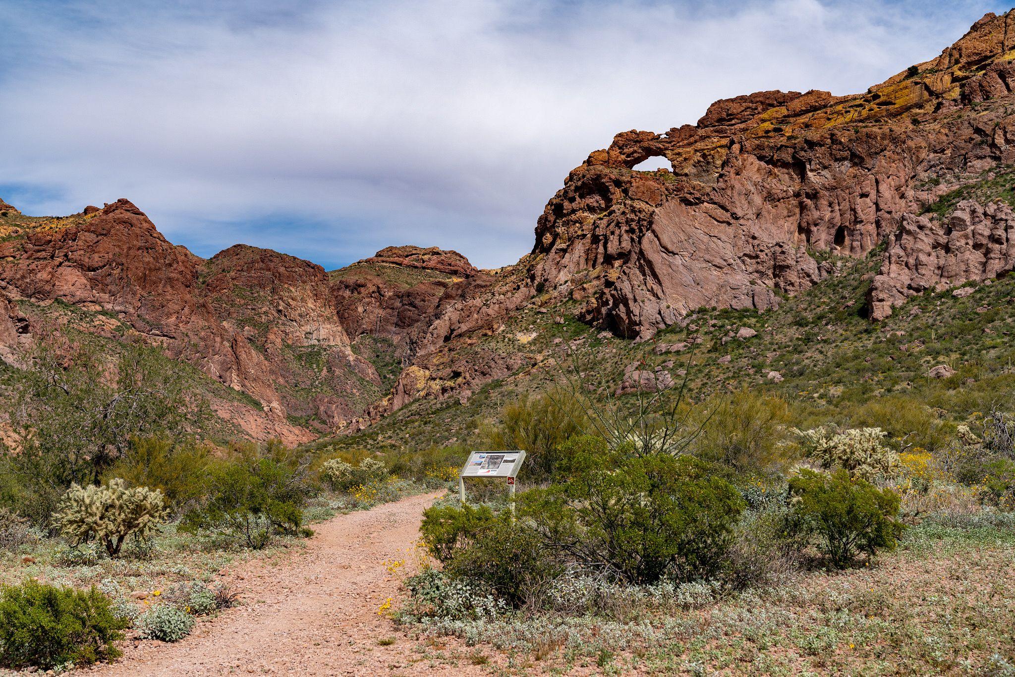 Arch Canyon Trail