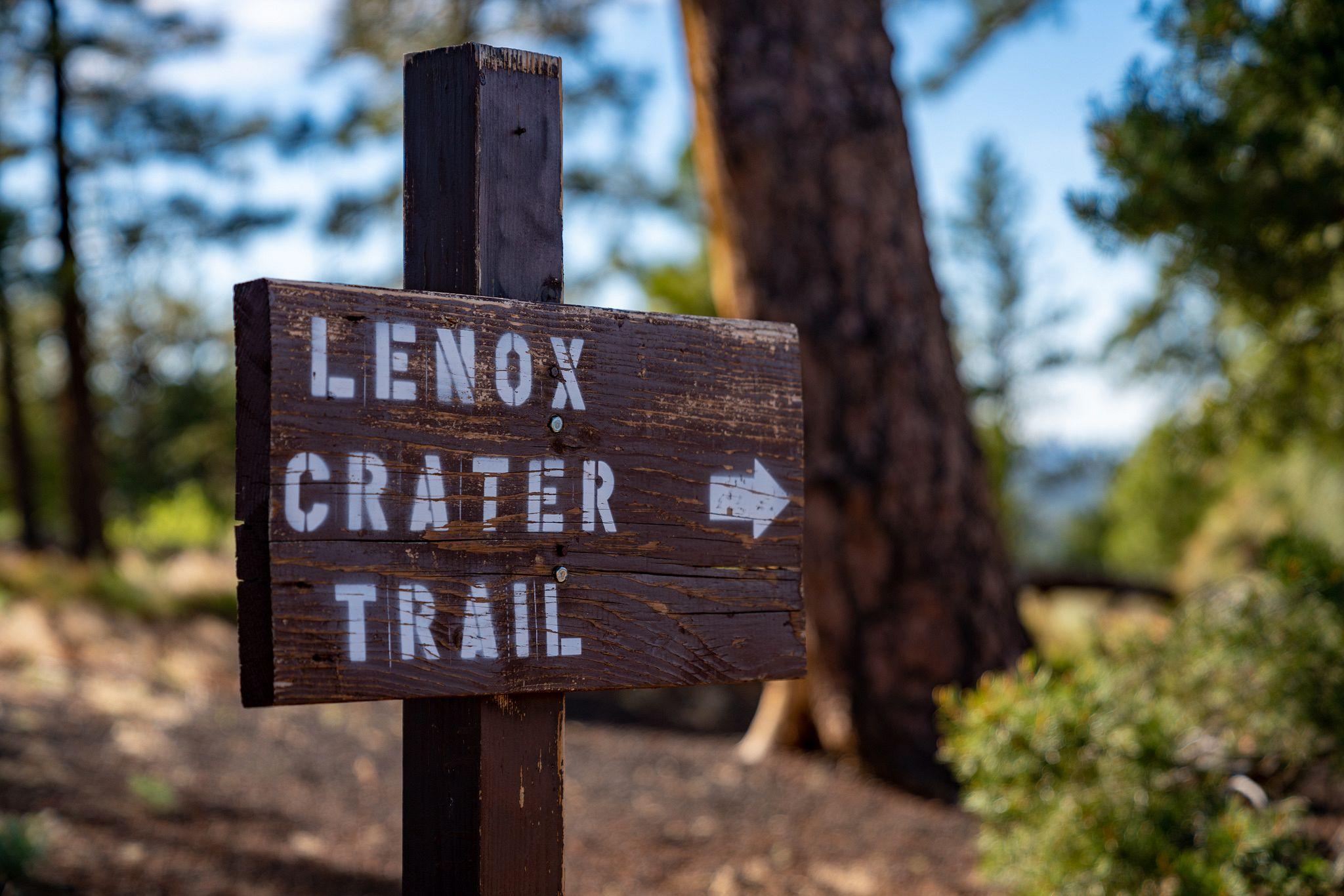 Lenox Crater Trail