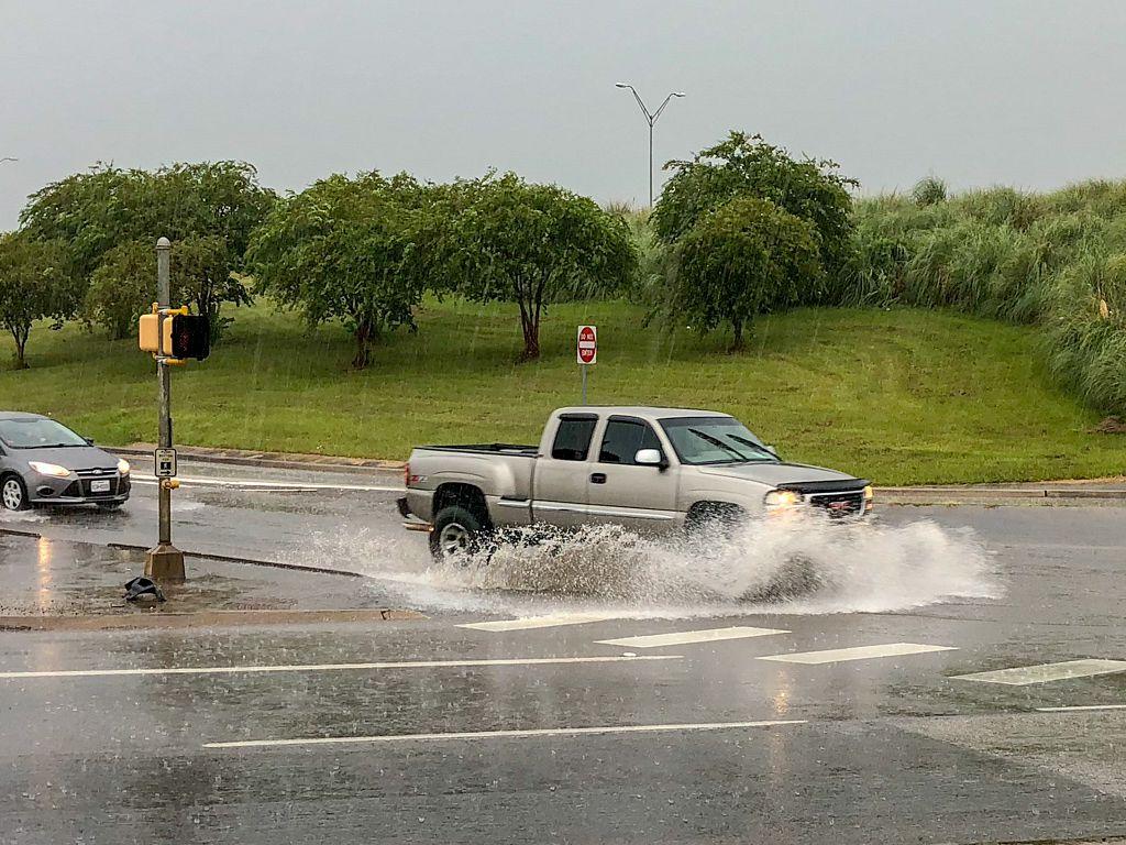 Storm in Livingston, TX
