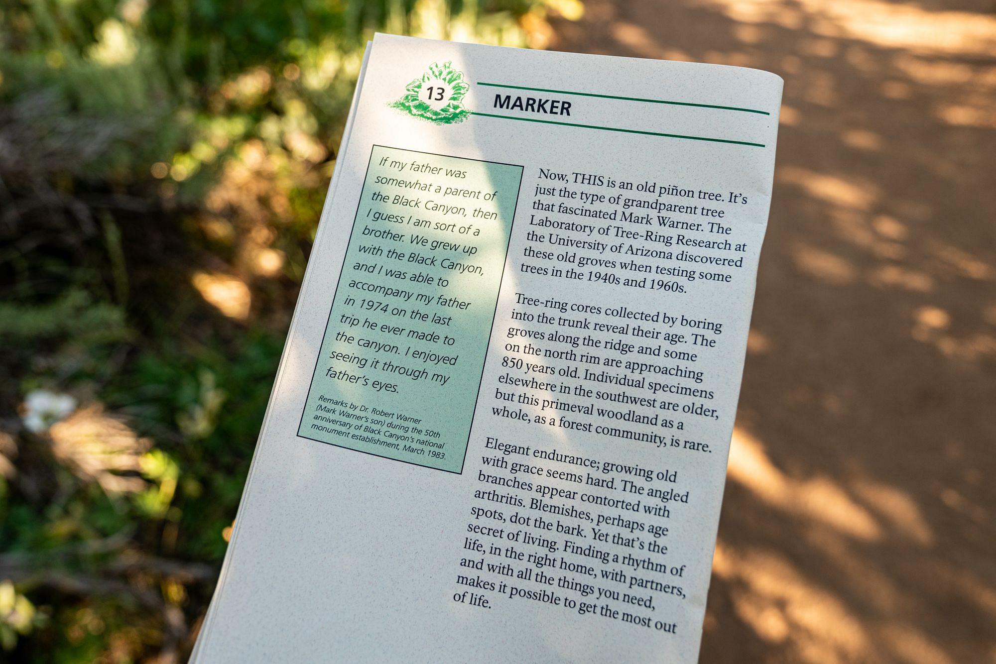 Warner Trail Guidebook