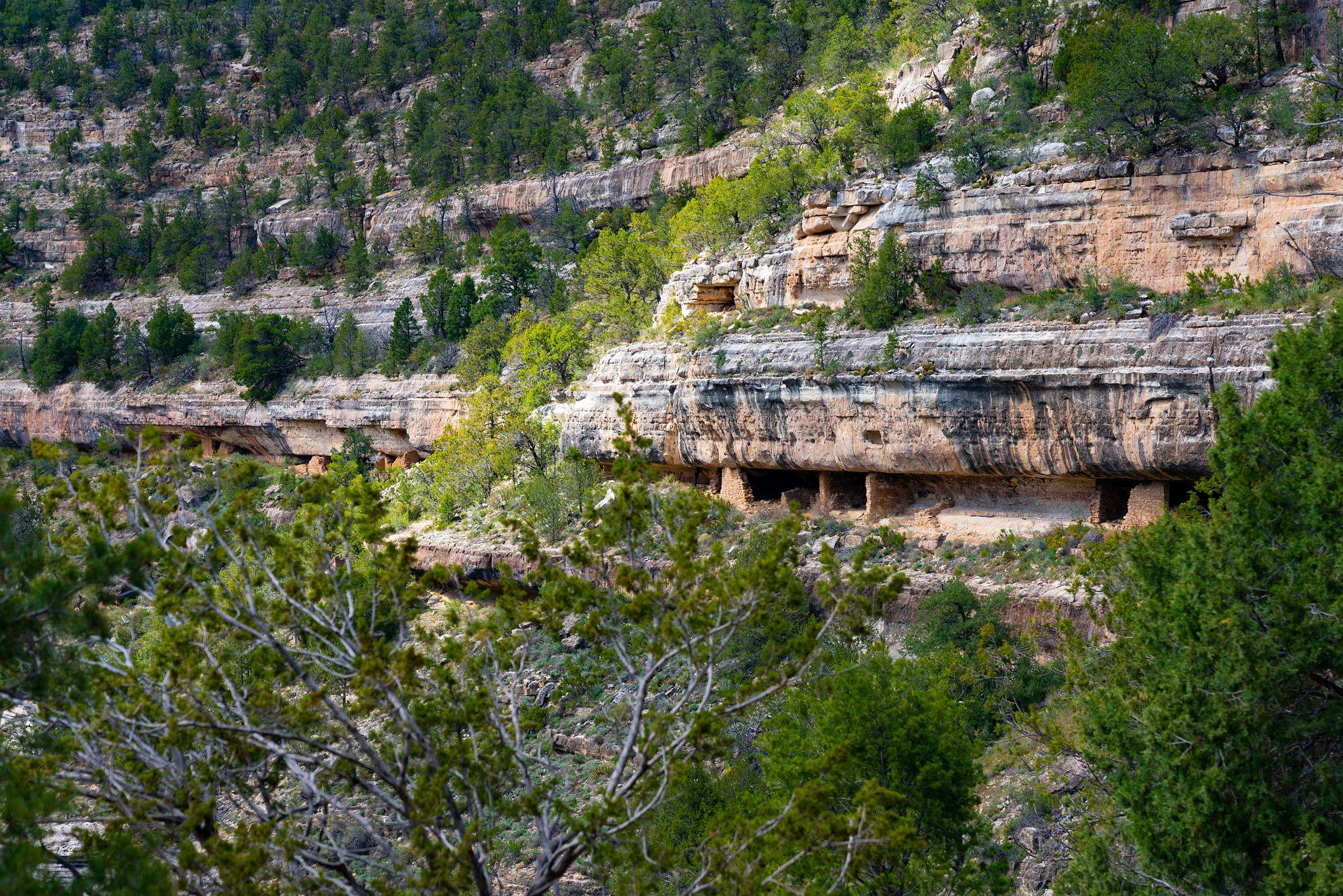 Walnut Canyon Cliffs
