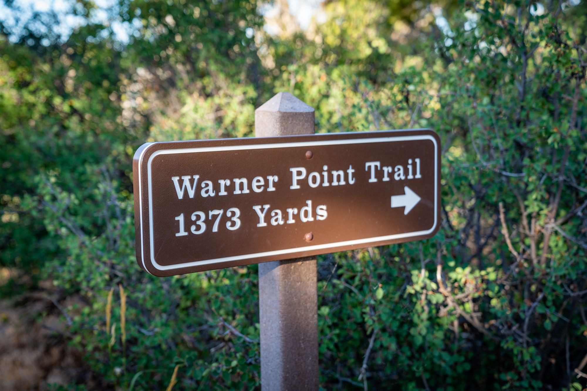 Warner Point Trail