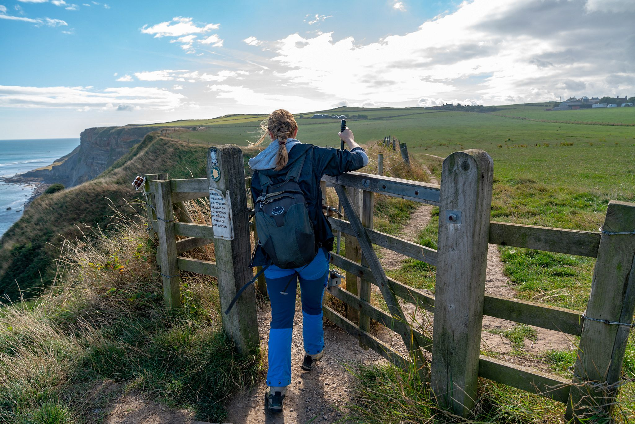 Hiking the Cleveland Way