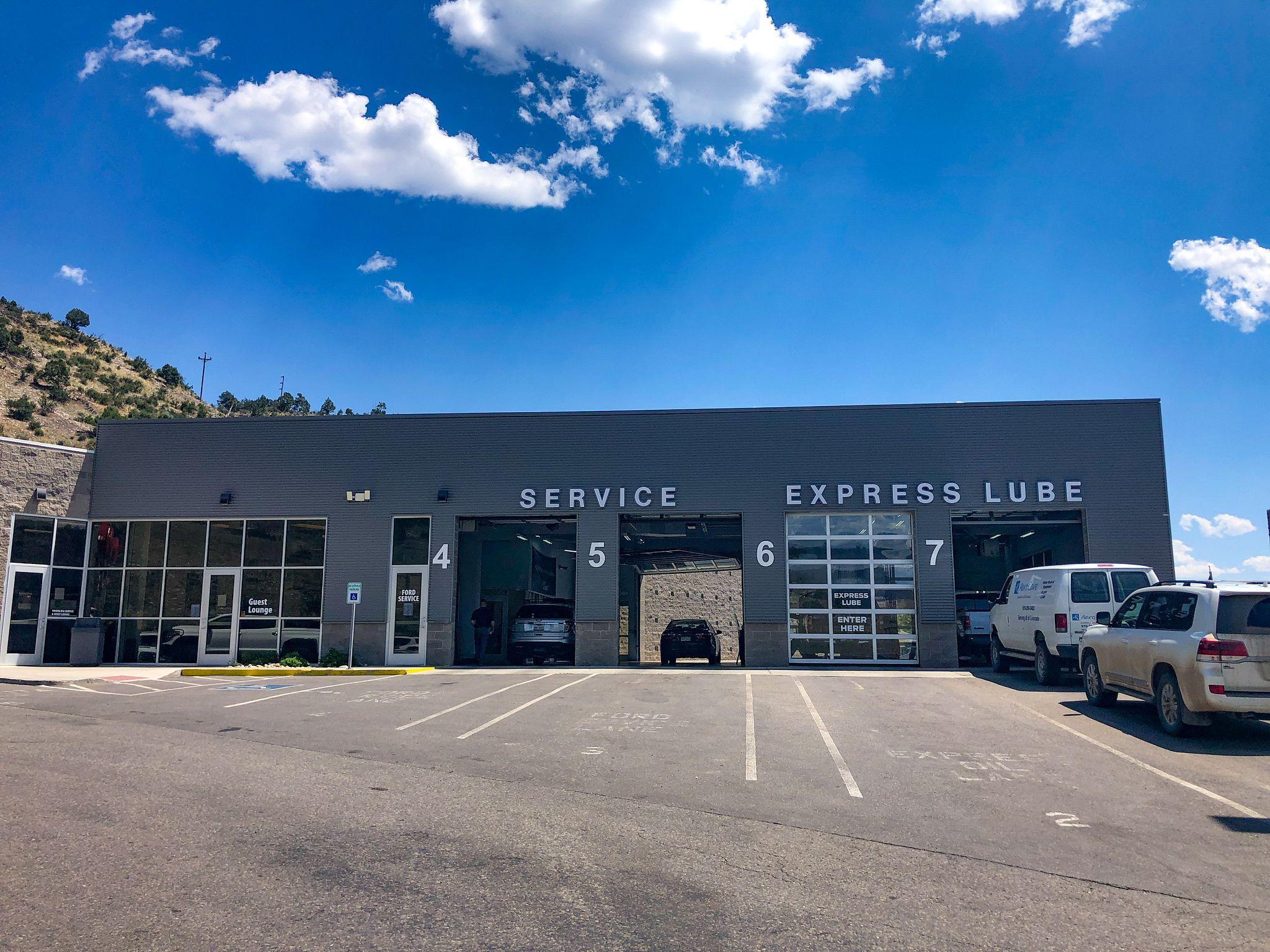 Service Bays at Durango Motor Company