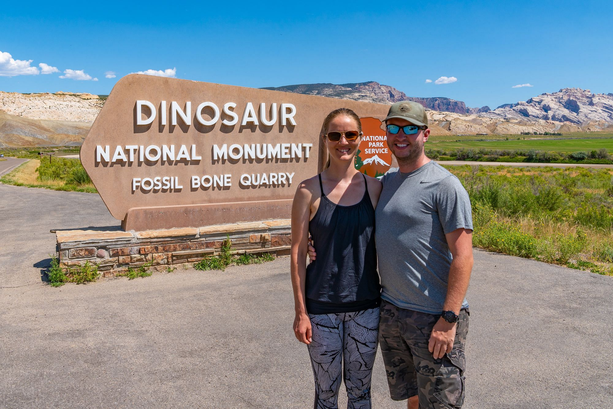 Dinosaur National Monument Entrance Sign