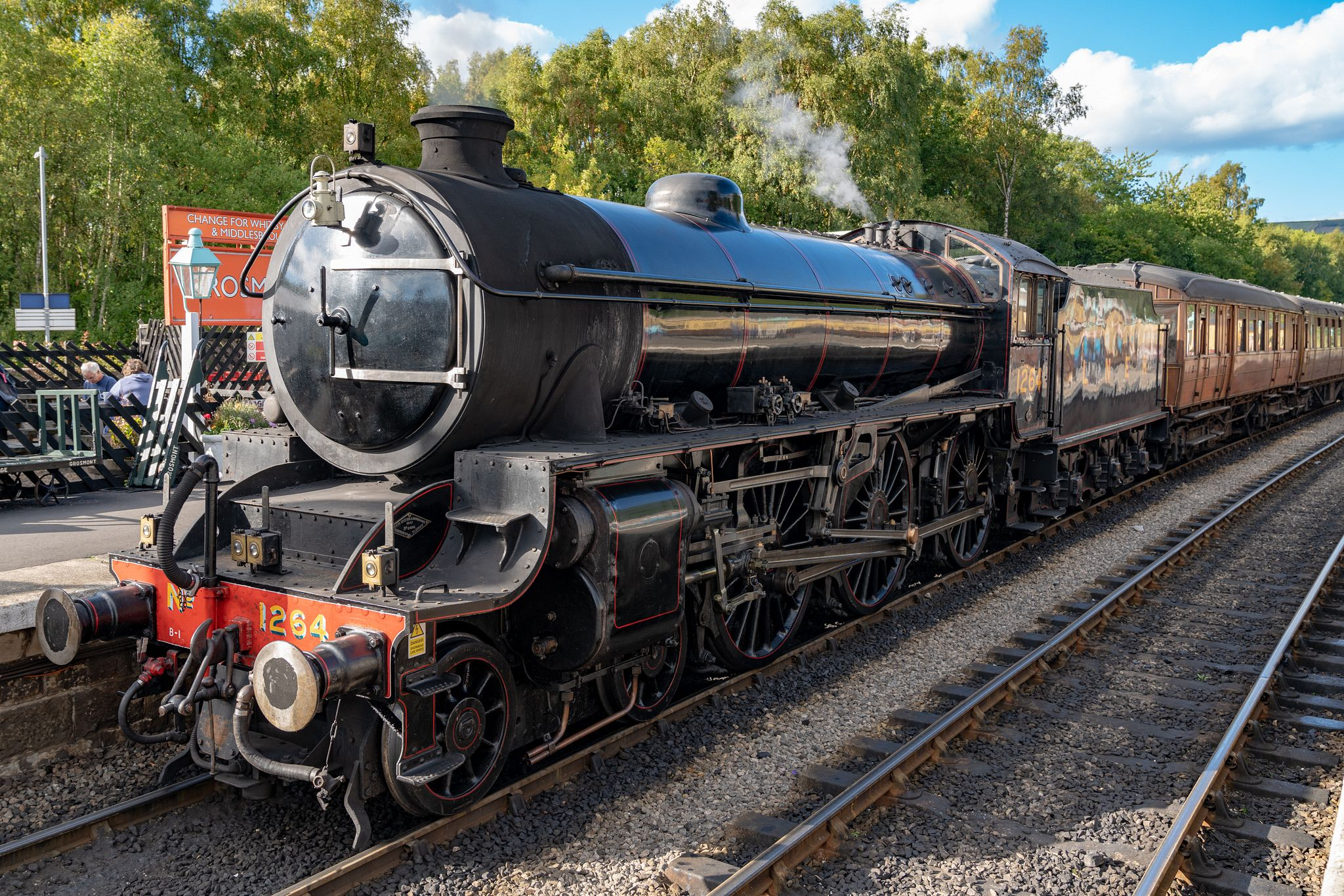 Steam Train on the North Yorkshire Moors Railway