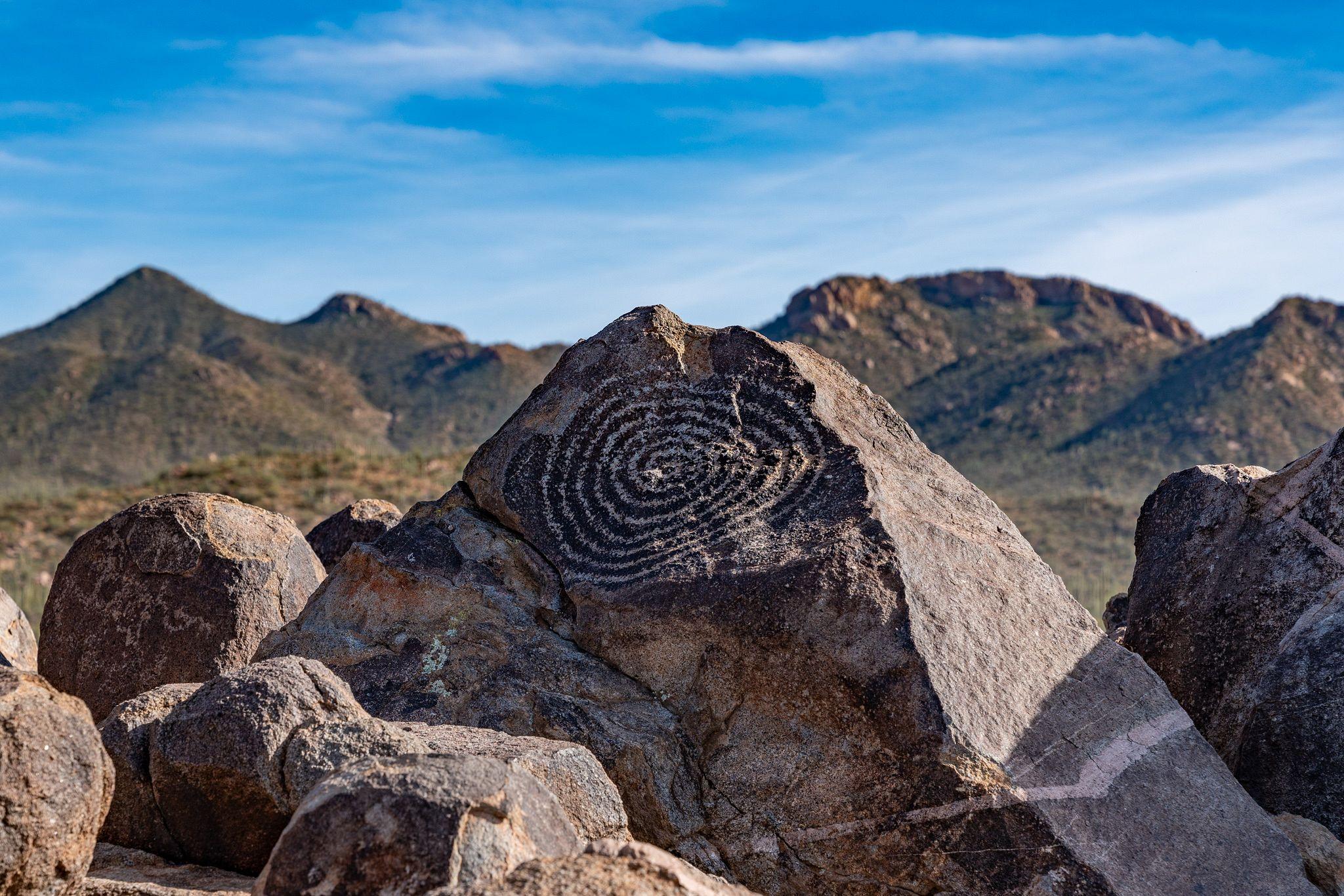 Signal Hills Petroglyphs