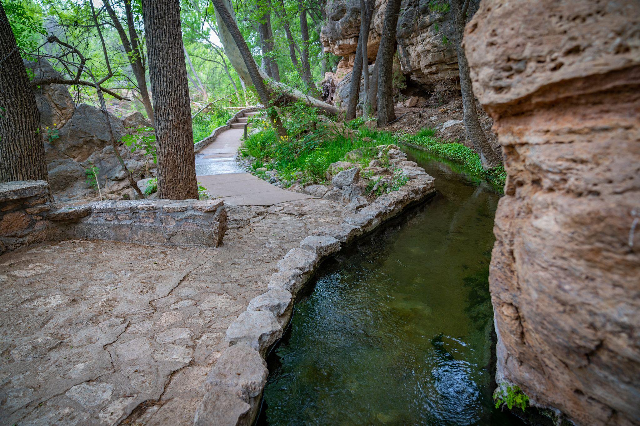 Montezuma Well Irrigation Canal