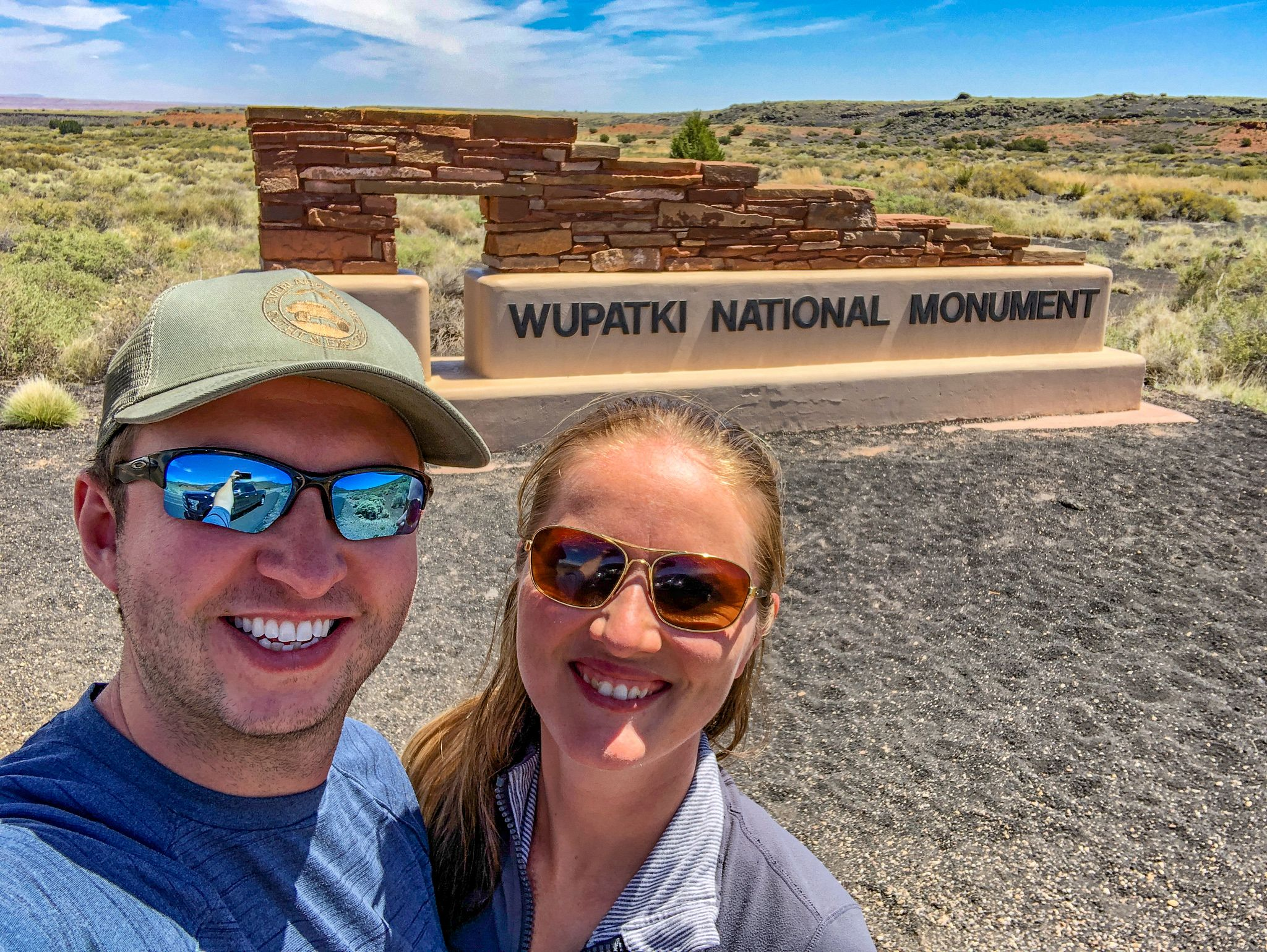 Wupatki National Monument Sign