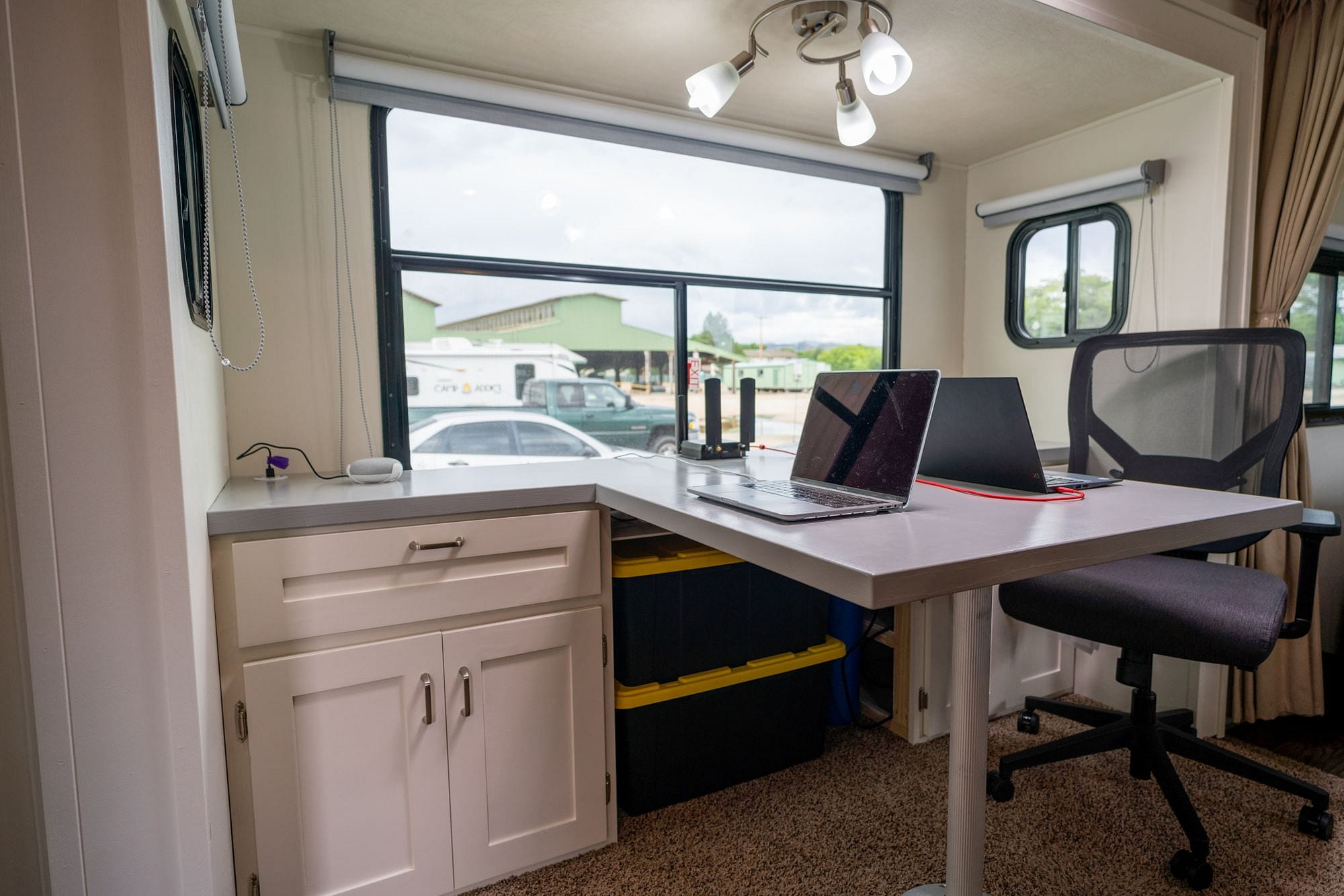 Custom RV Workspace