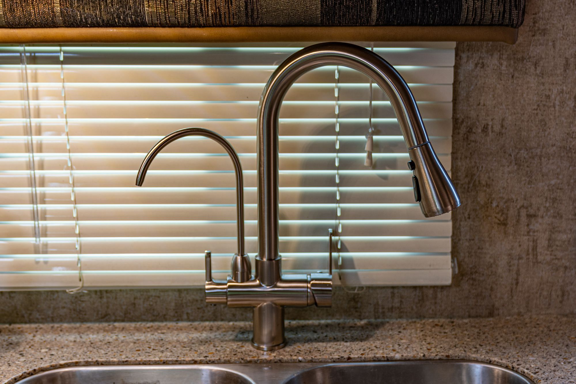 RV Kitchen Faucet Upgrade