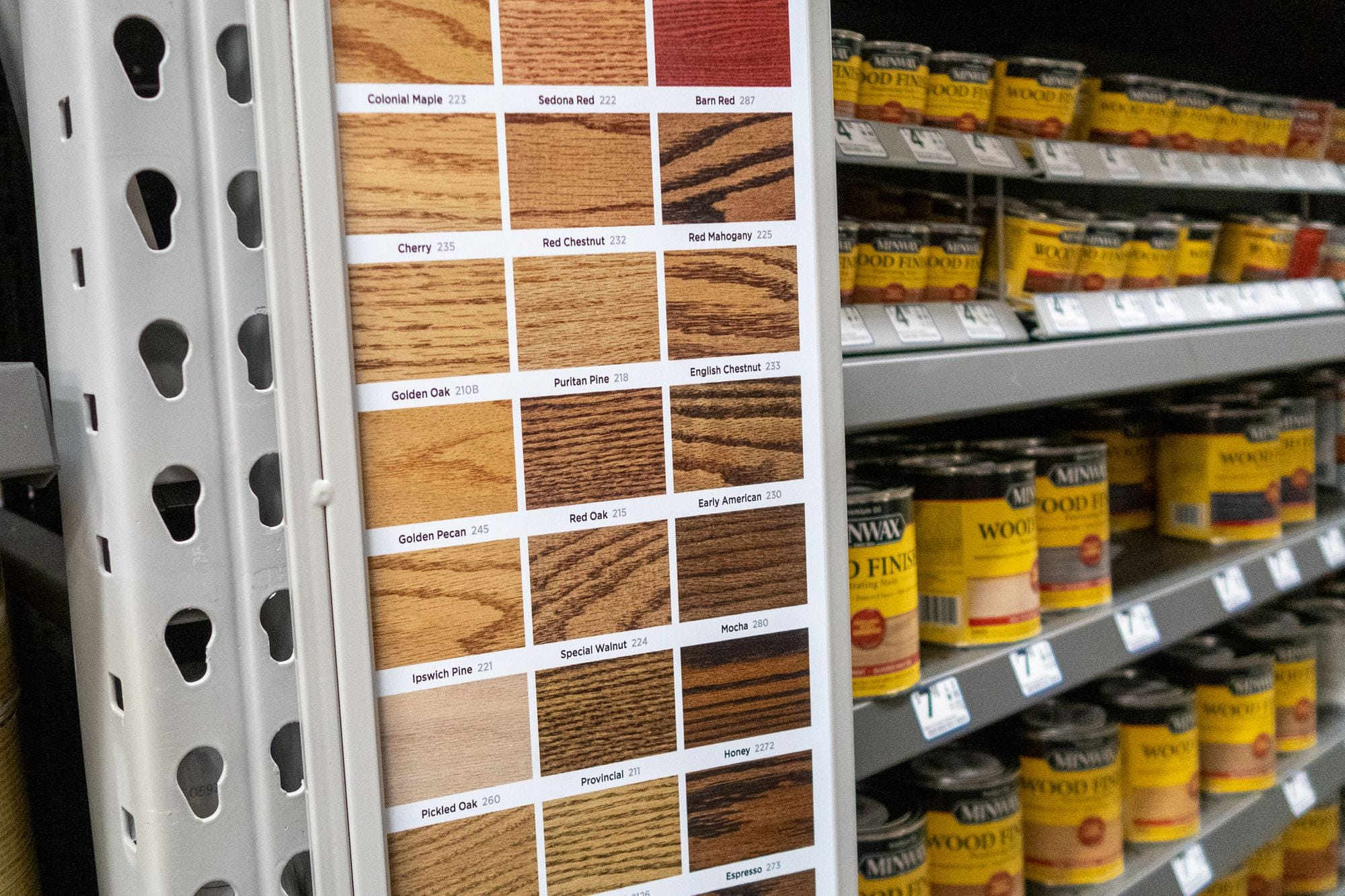 Red Oak Wood Stain