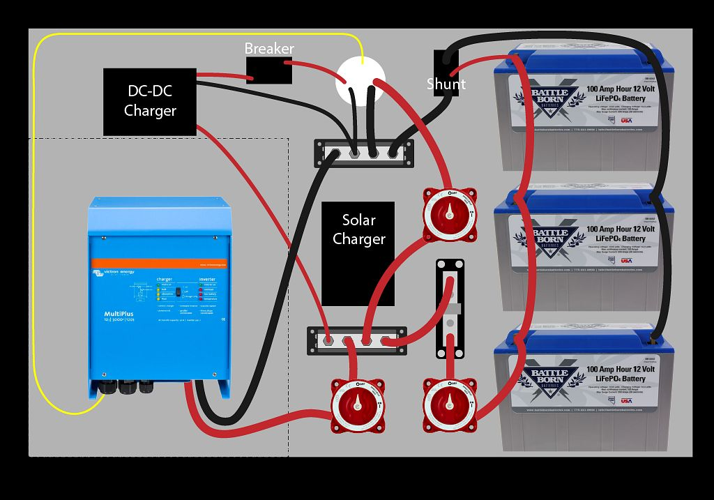 RV Electrical Schematic