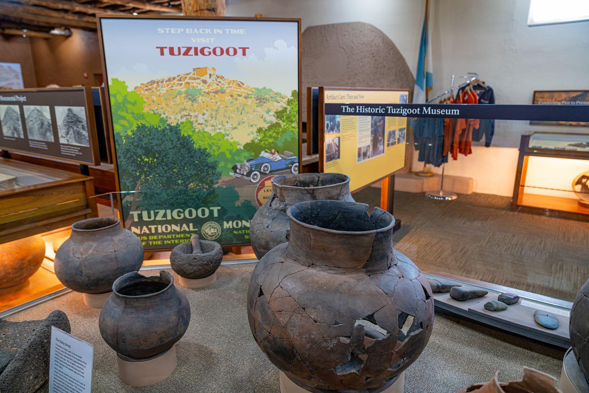 Tuzigoot Pottery Shards