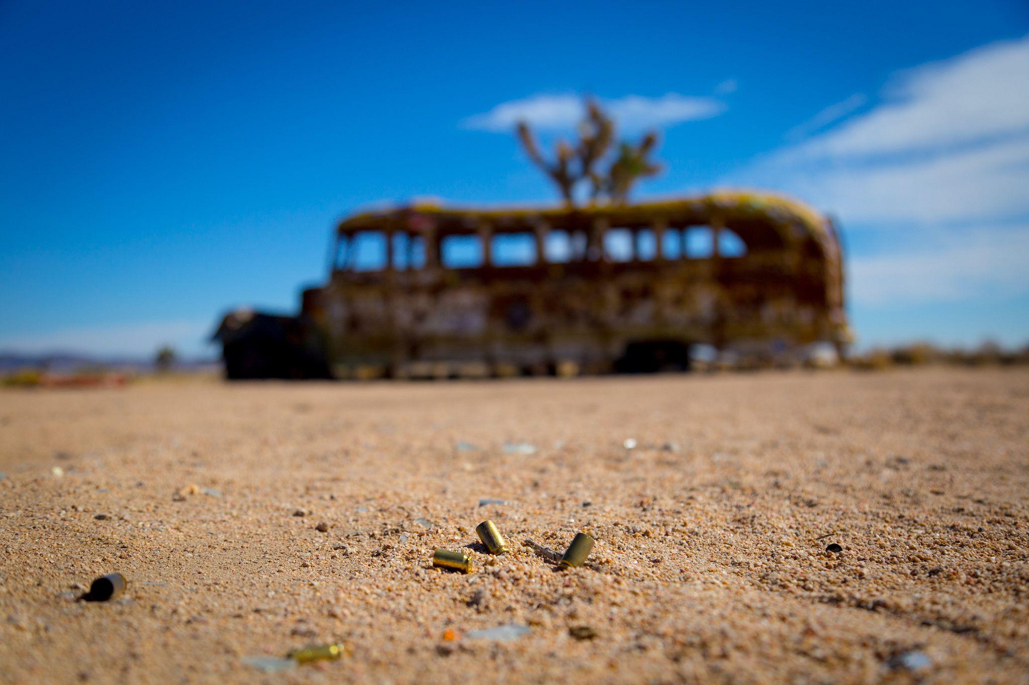 Mojave Road School Bus