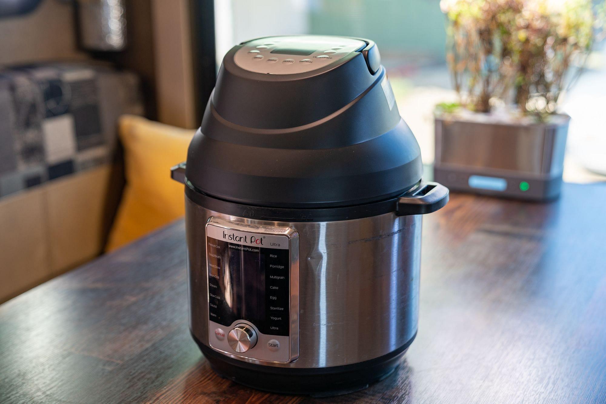 Instant Pot Air Fryer Lid: Unboxing & Review