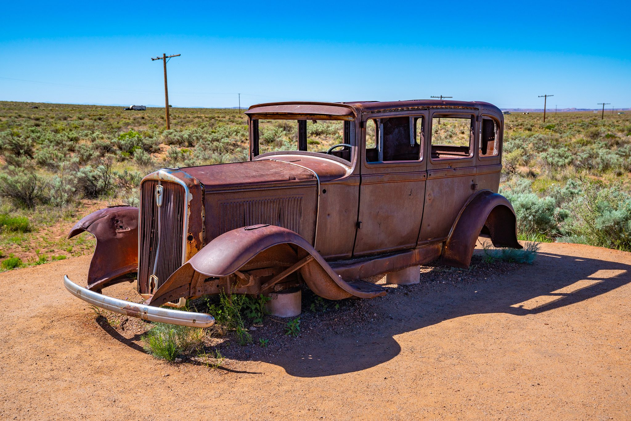 Route 66 in Petrified Forest NP