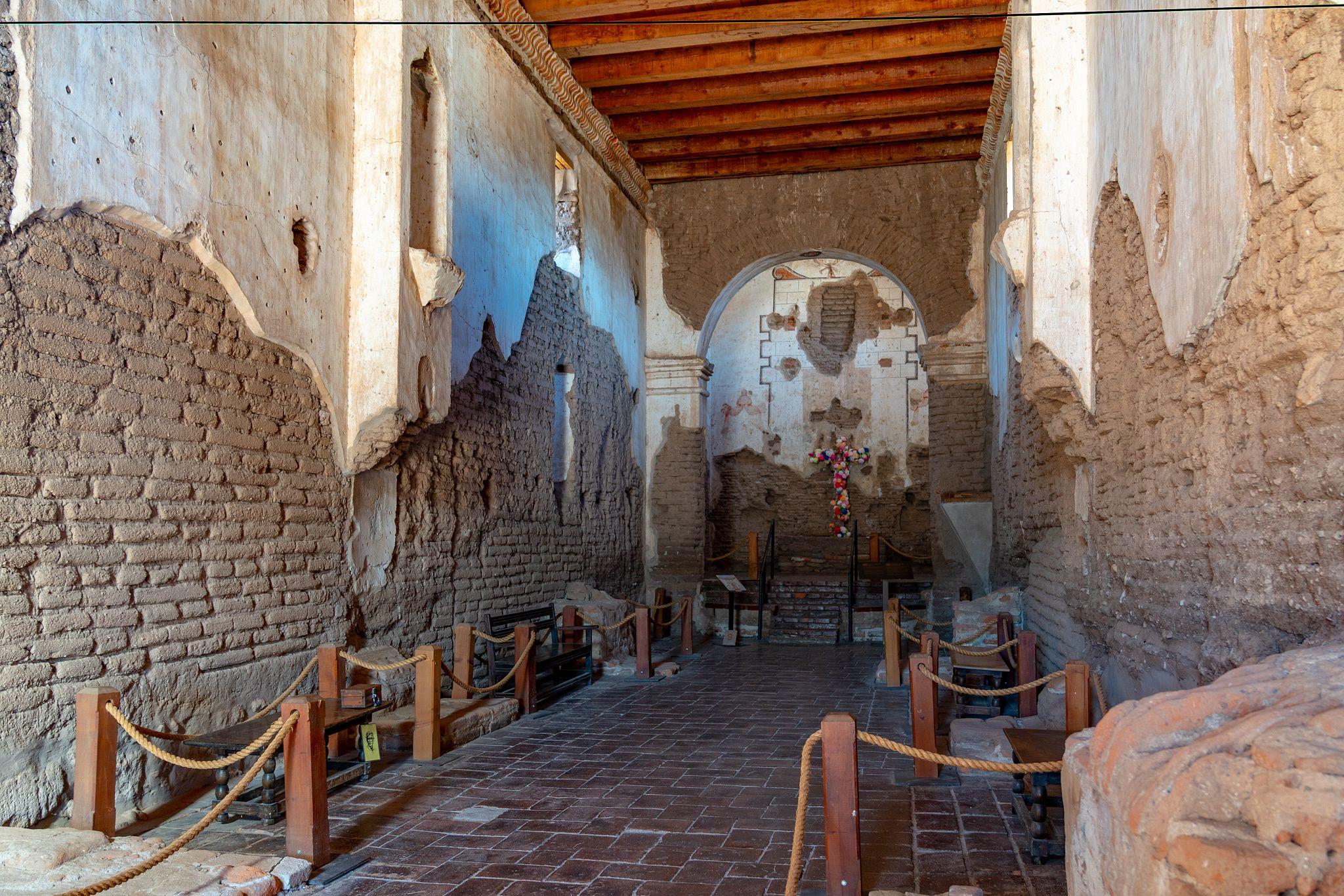 Inside Mission San José de Tumacácori