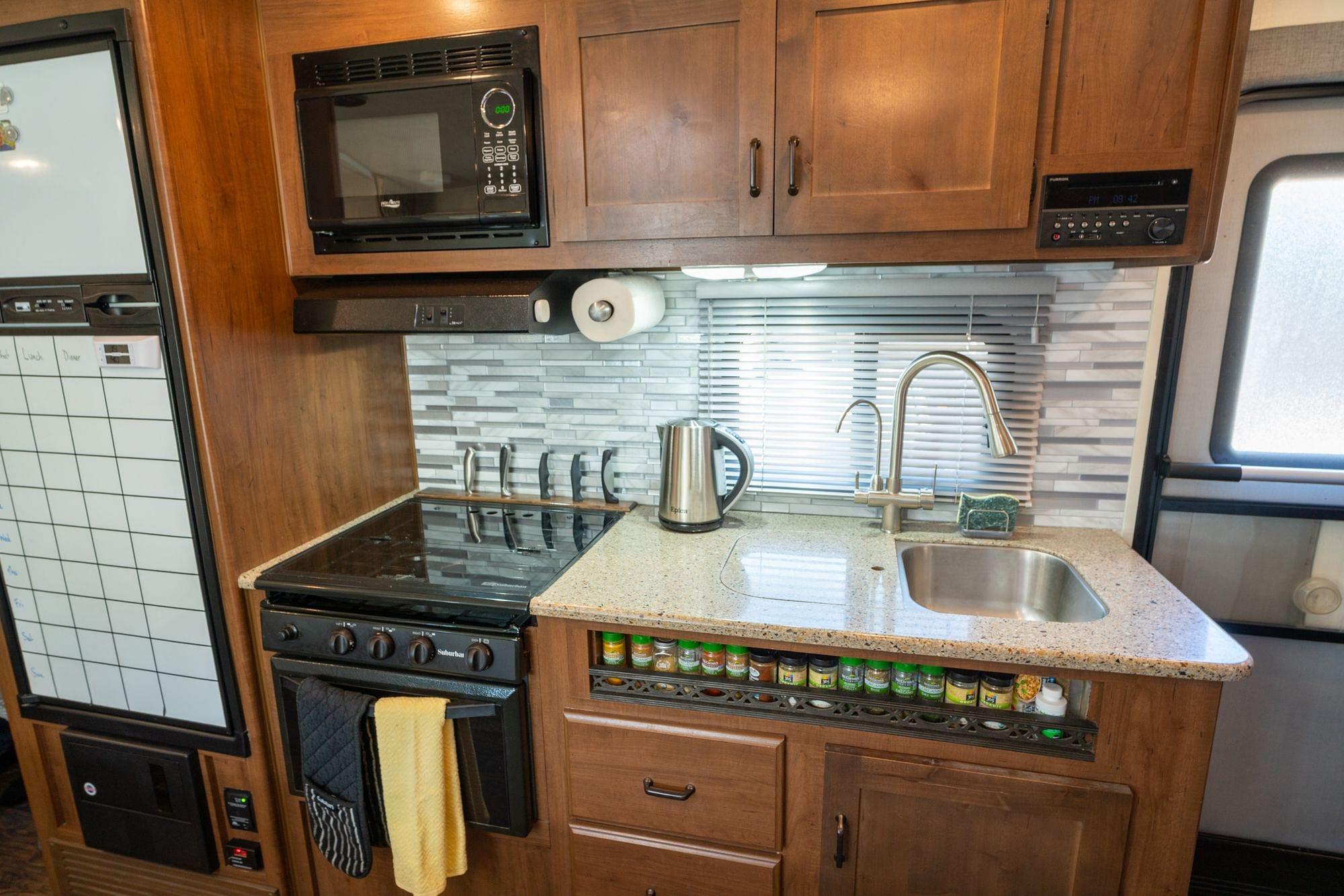 RV Kitchen Remodel