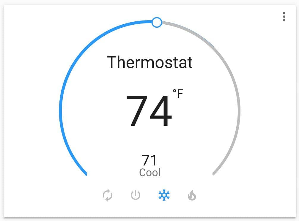 Home Assistant Thermostat