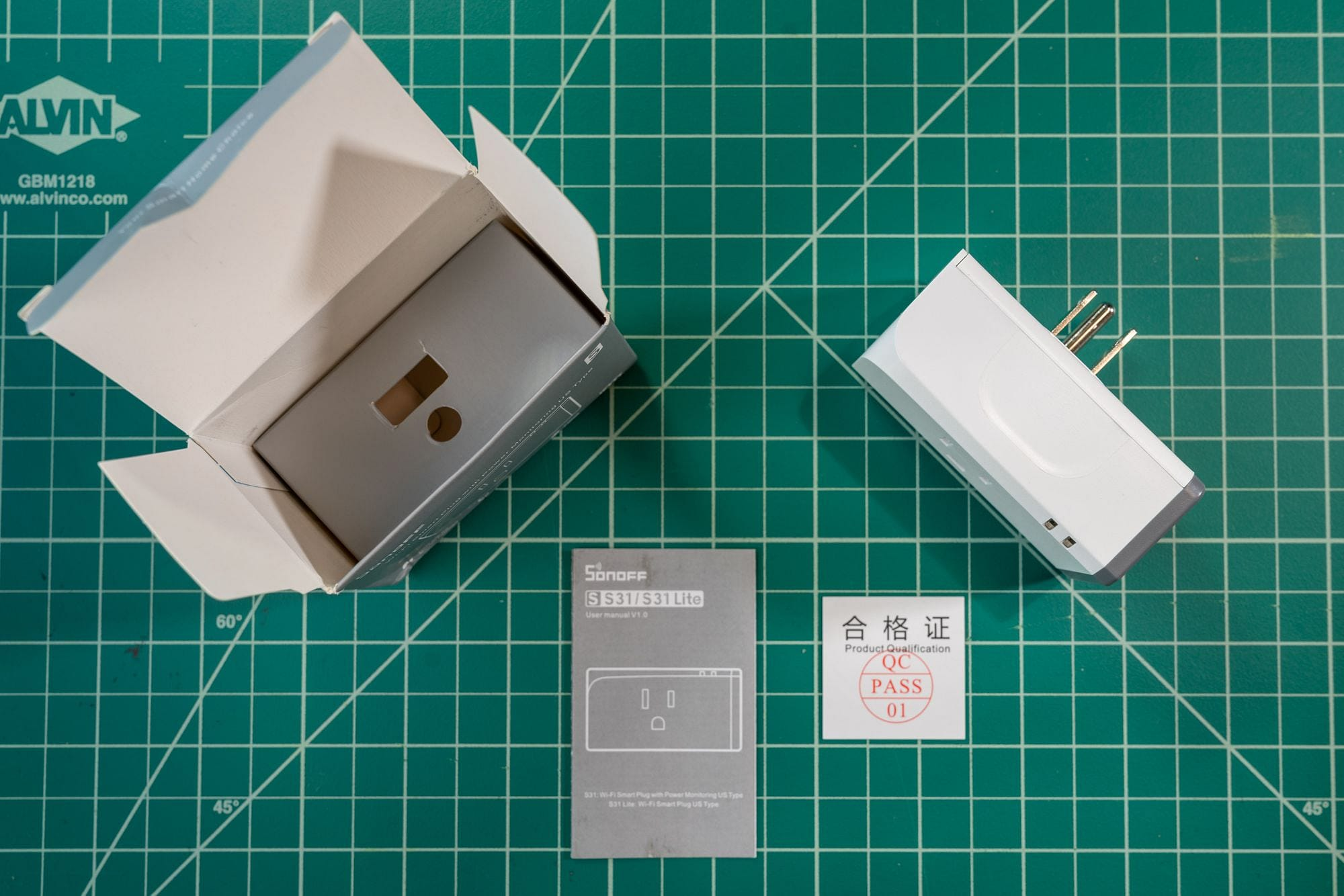 Sonoff S31 Unboxing