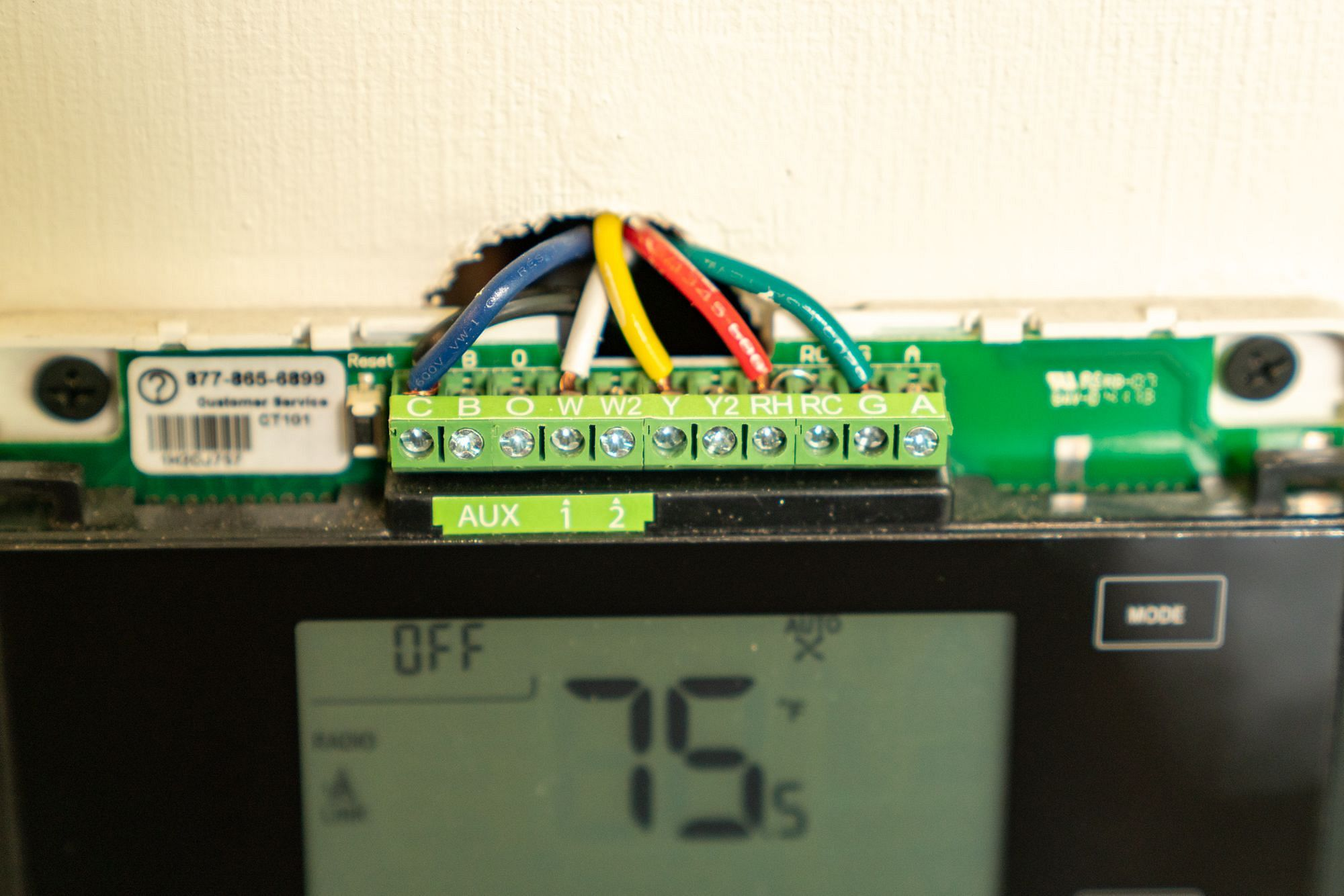 RV Thermostat Wiring
