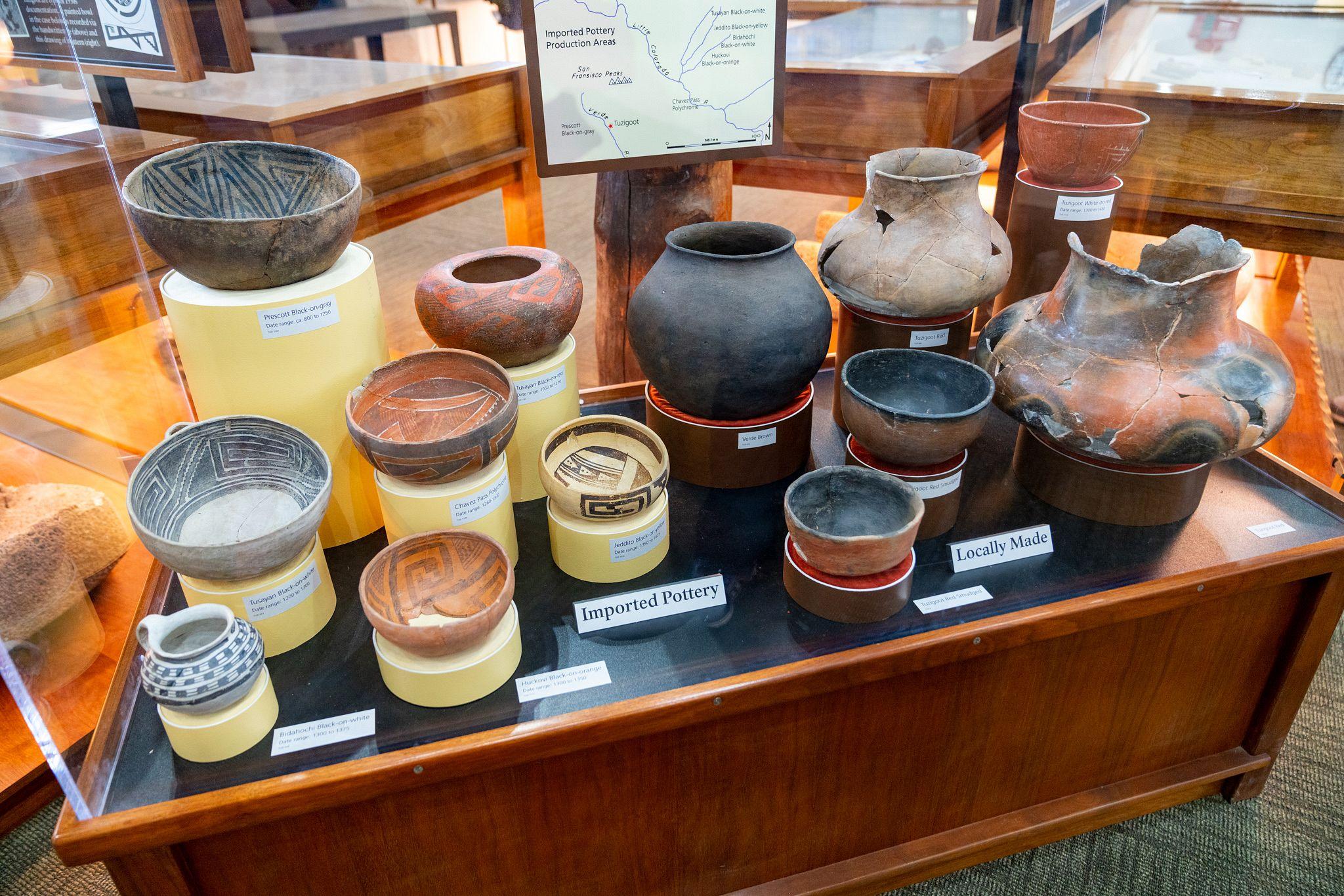 Tuzigoot Pottery