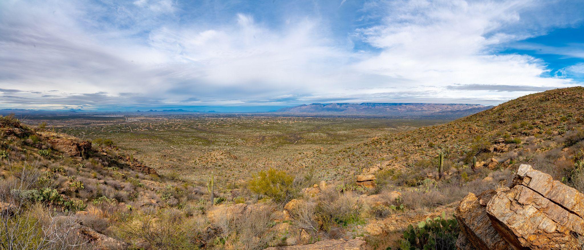 Panoramic Views from Tanque Verde Ridge
