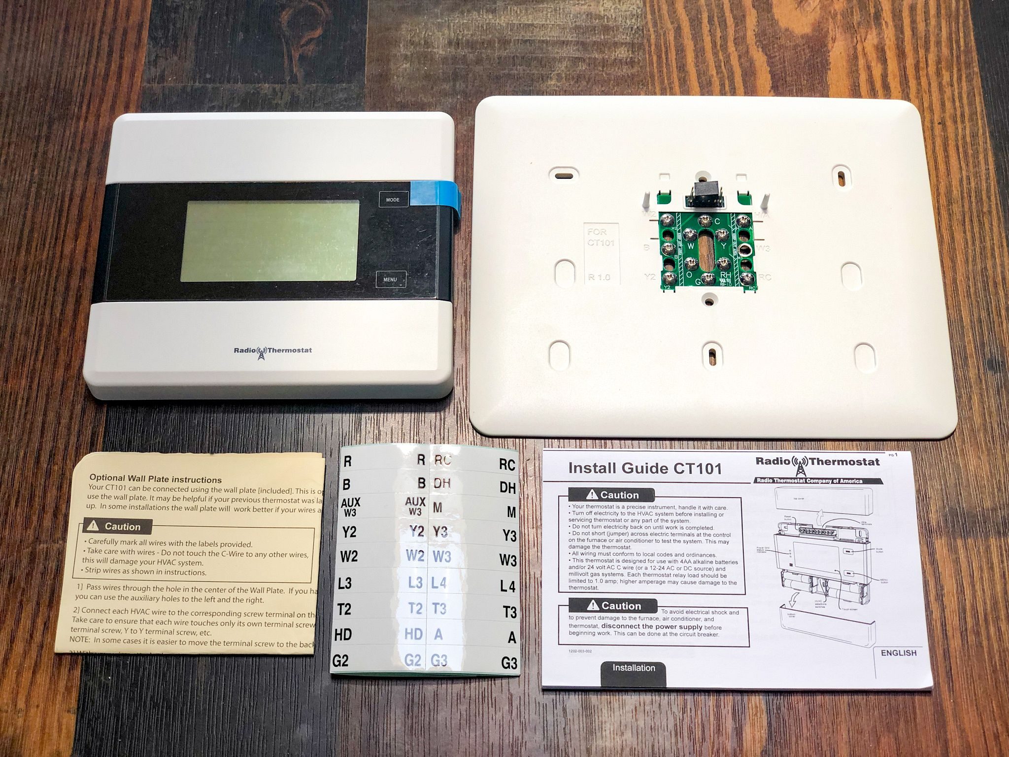 Radio Thermostat CT101