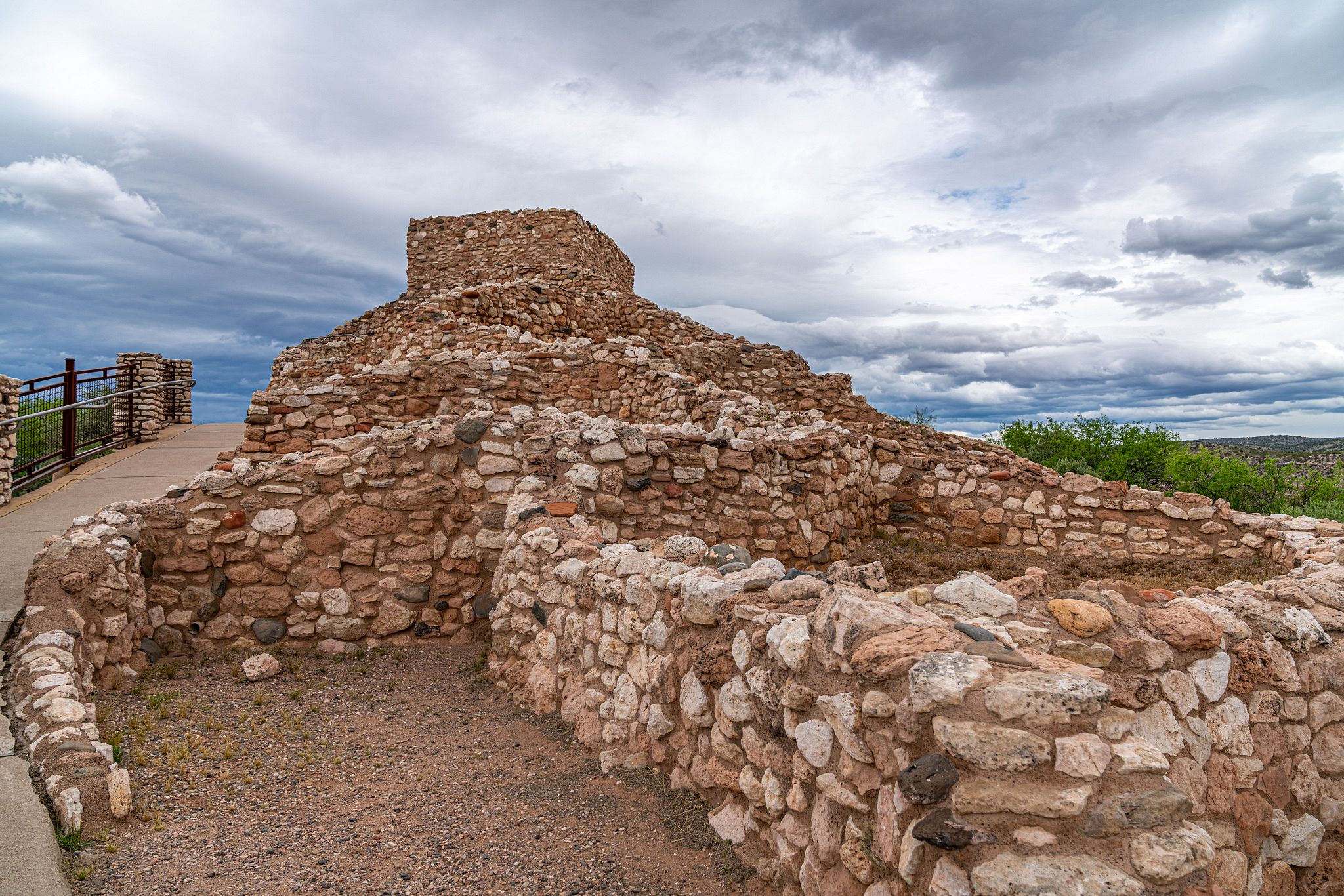 Tuzigoot Tallest Rooms
