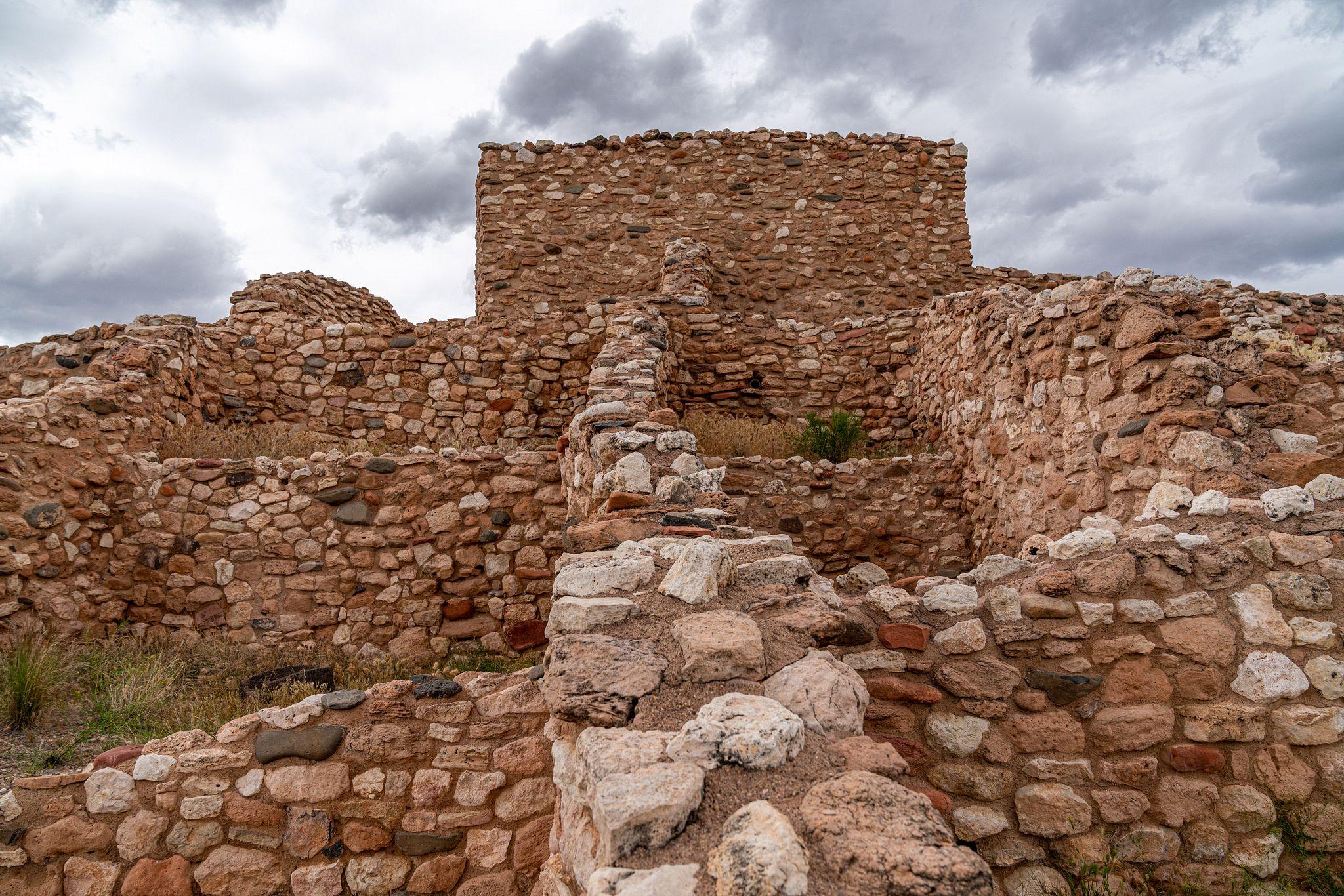 Tuzigoot Walls
