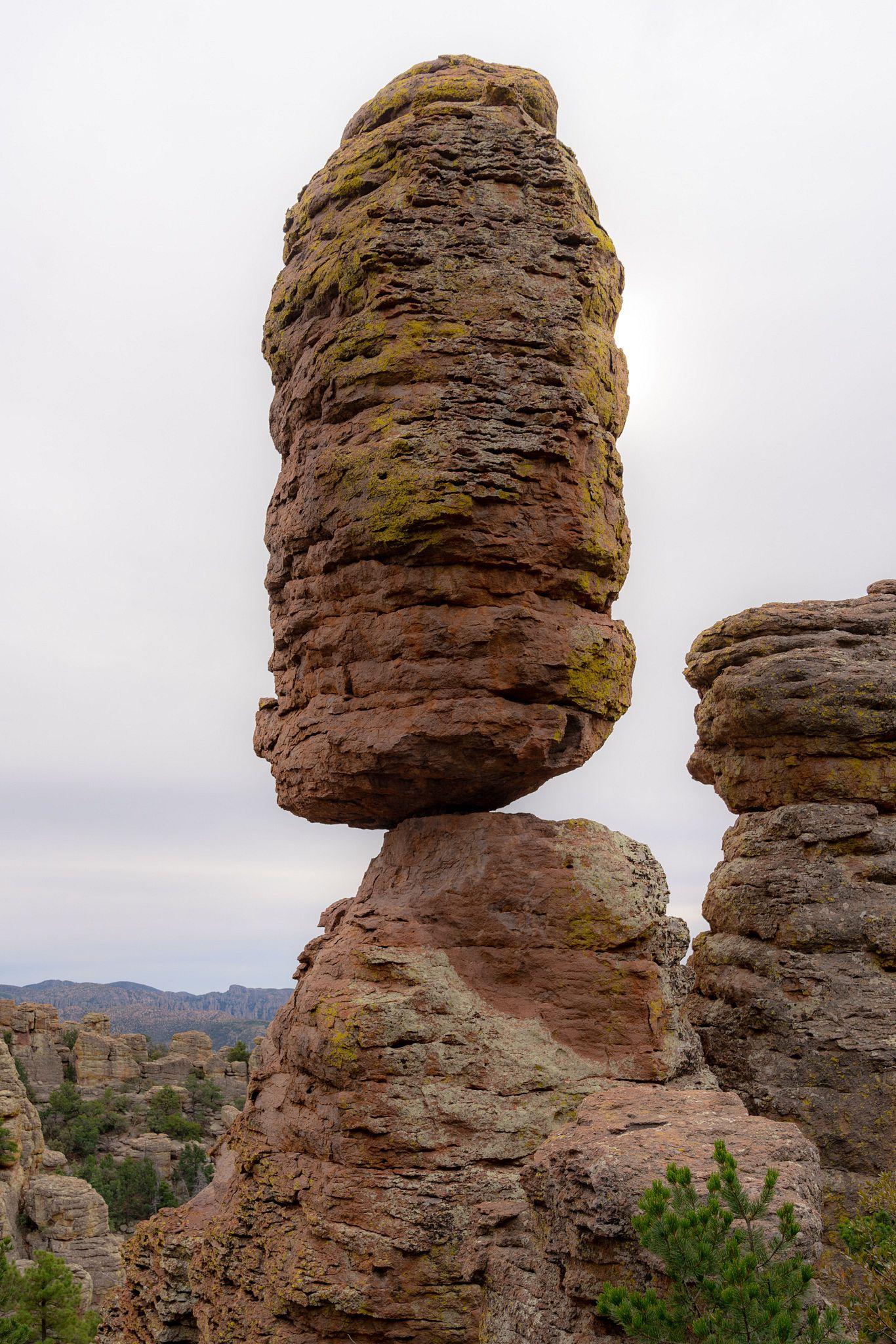 Pinnacle Balanced Rock, Chiricahua National Monument