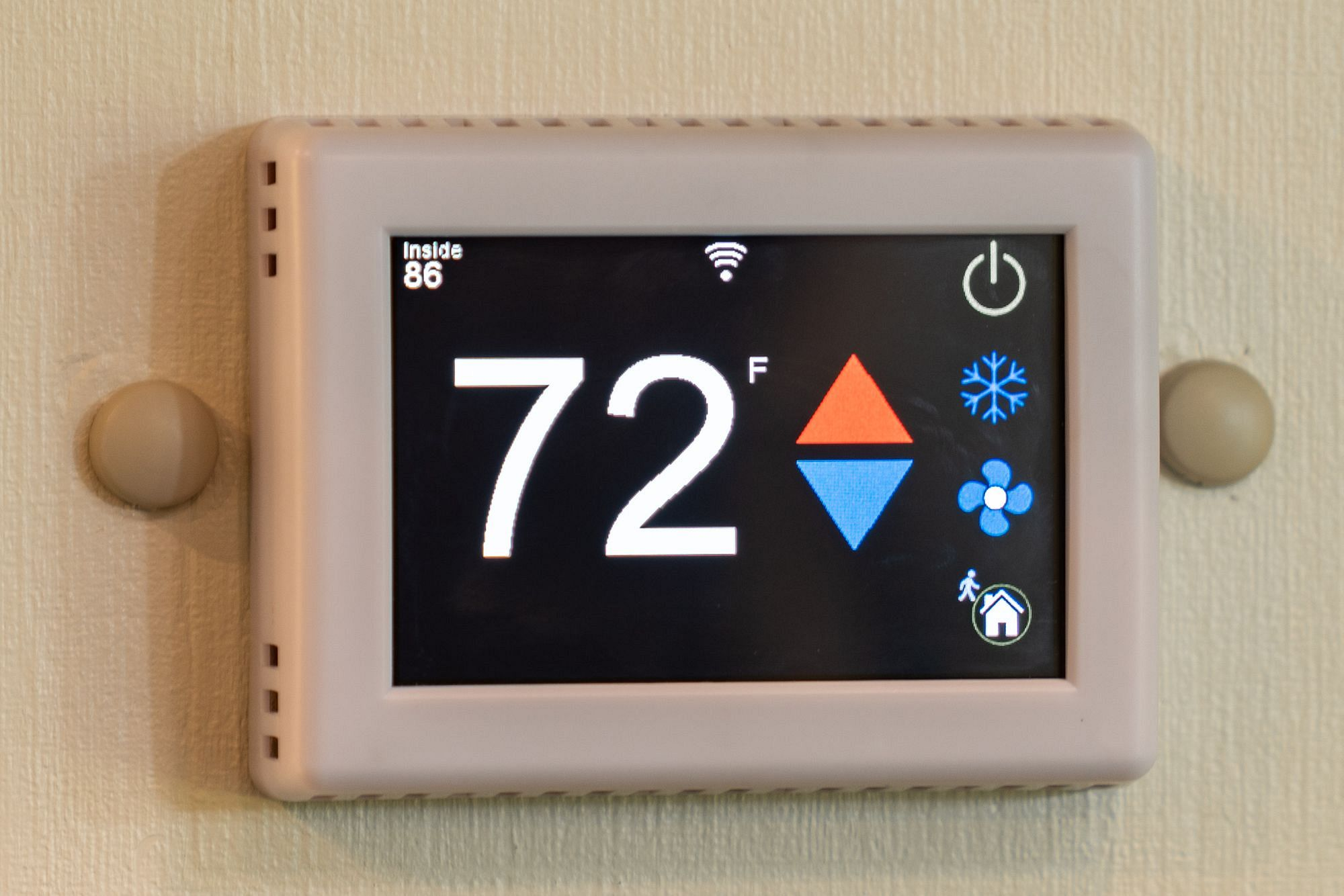 EasyTouch Temperature Display
