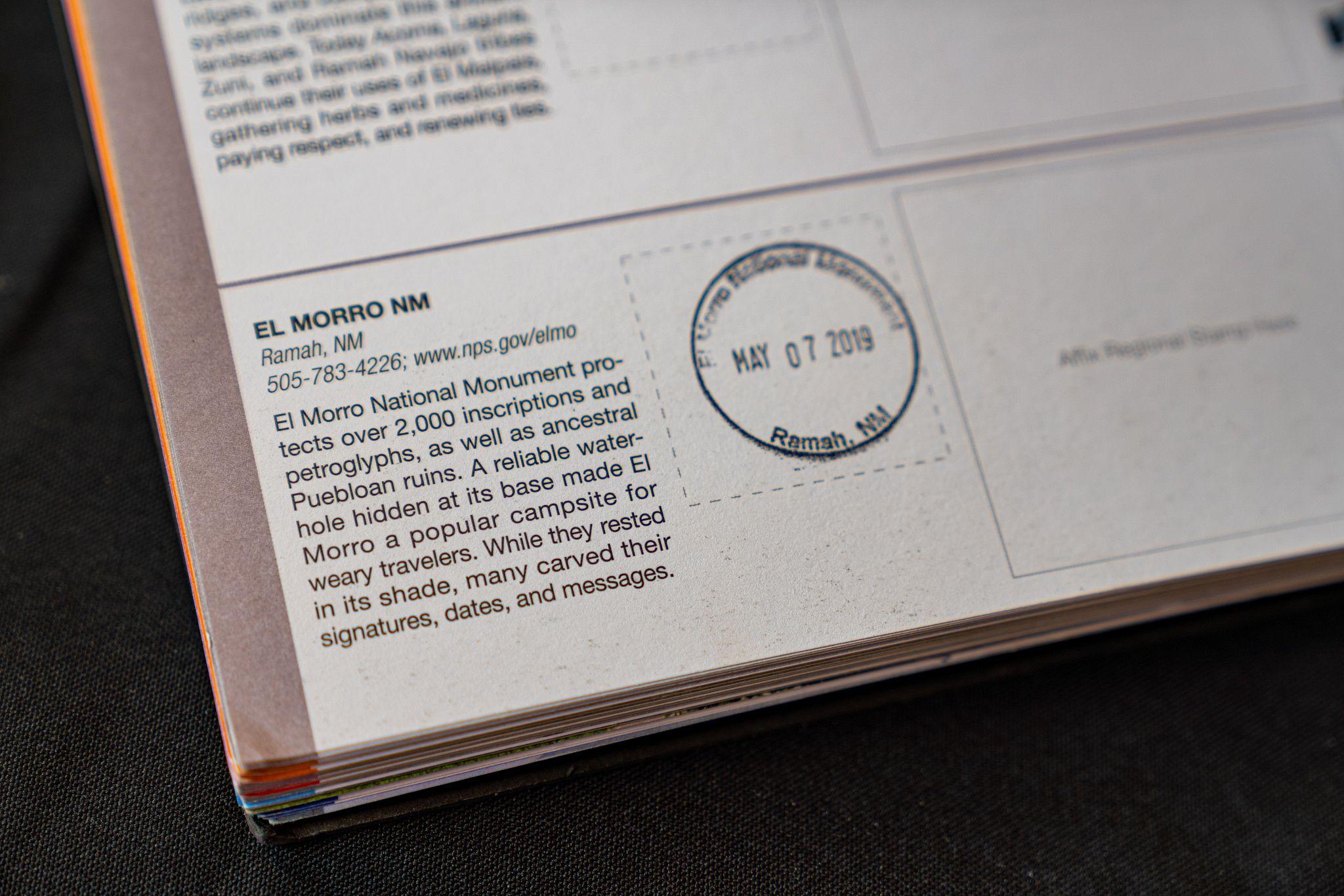 El Morro Passport Stamp