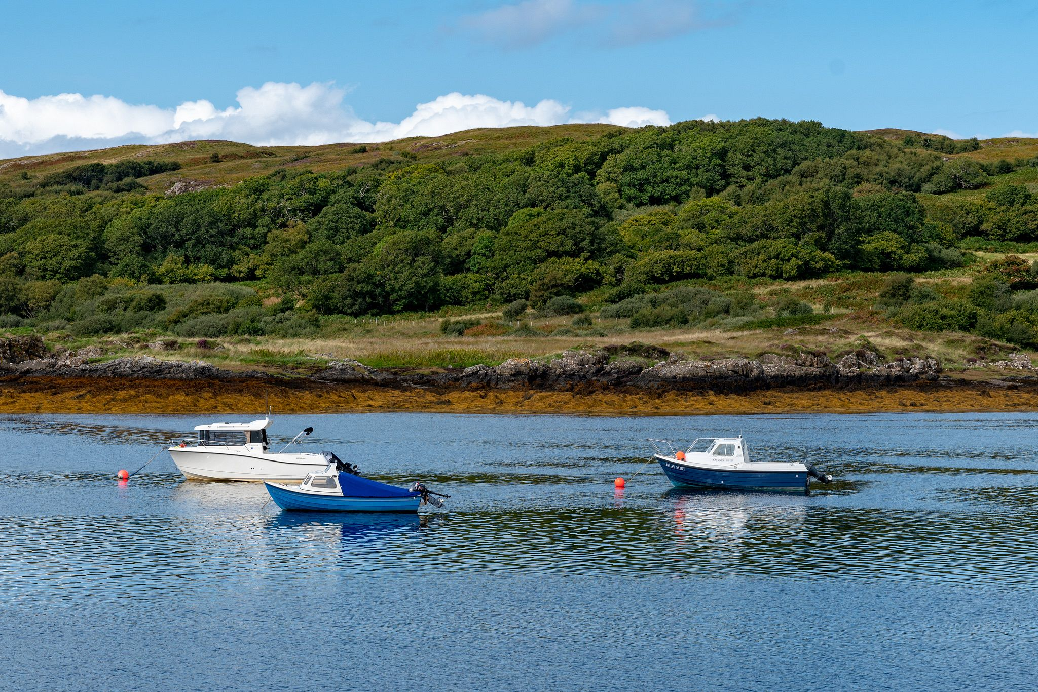 Boats at Arisaig