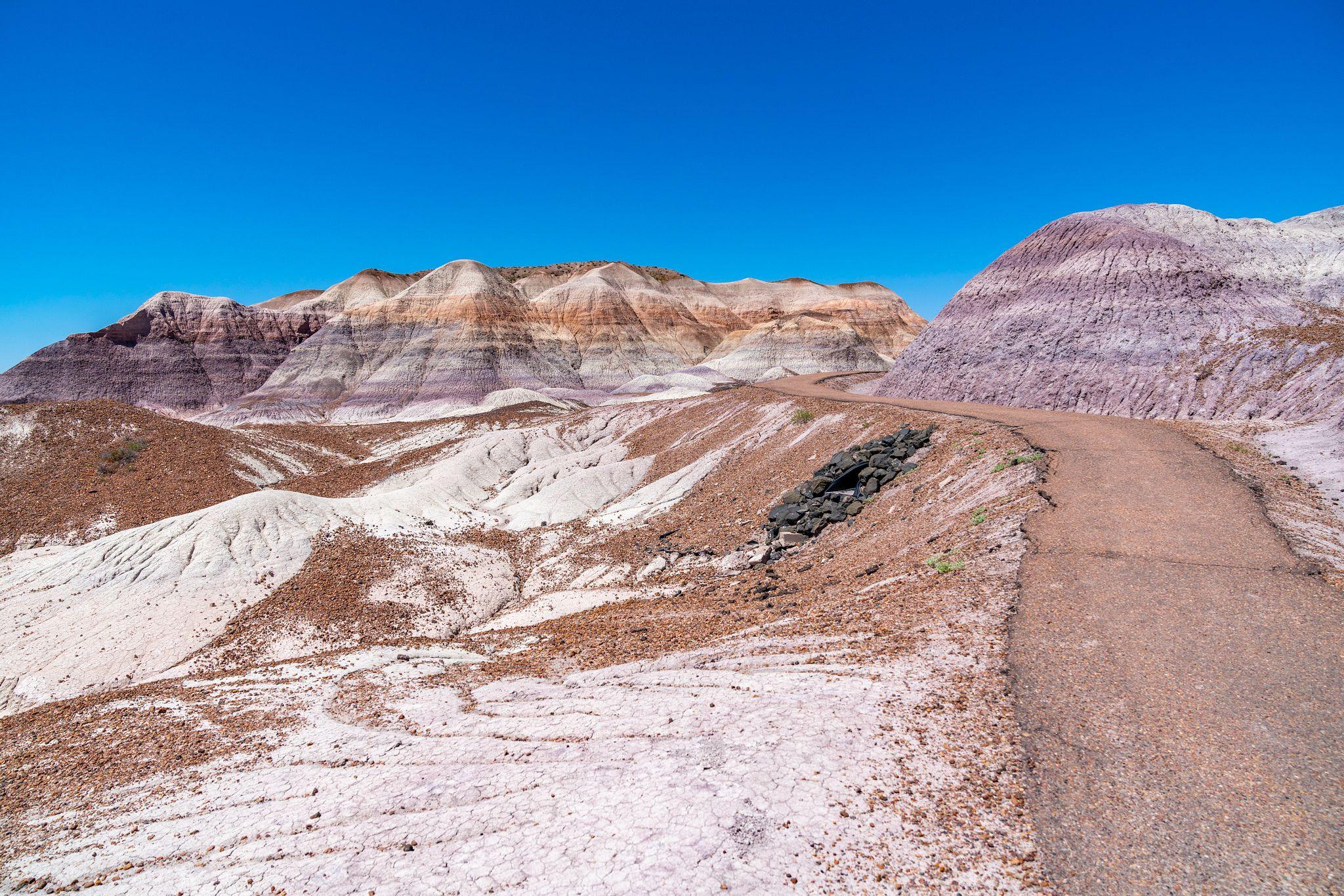 Blue Mesa Trail Surface