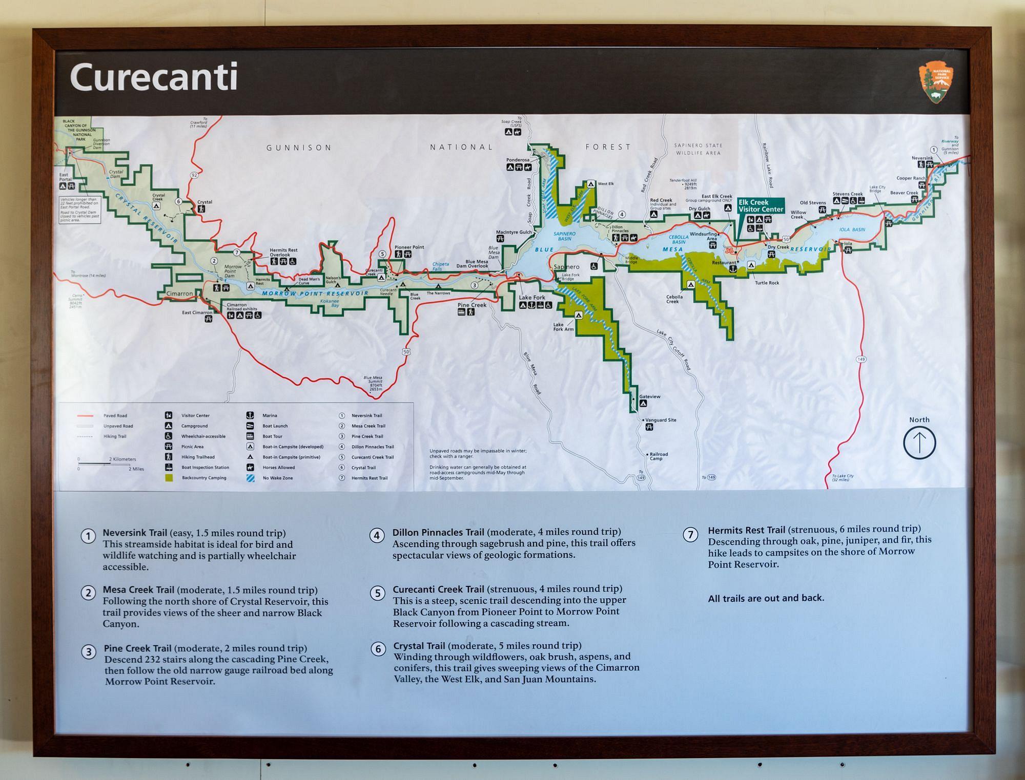 Curecanti Map