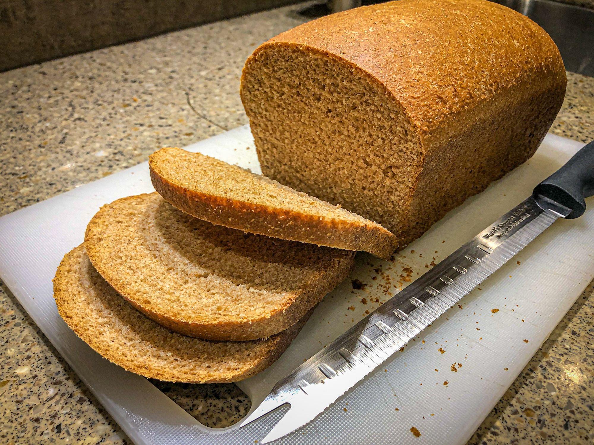 Baking Bread in RV Oven