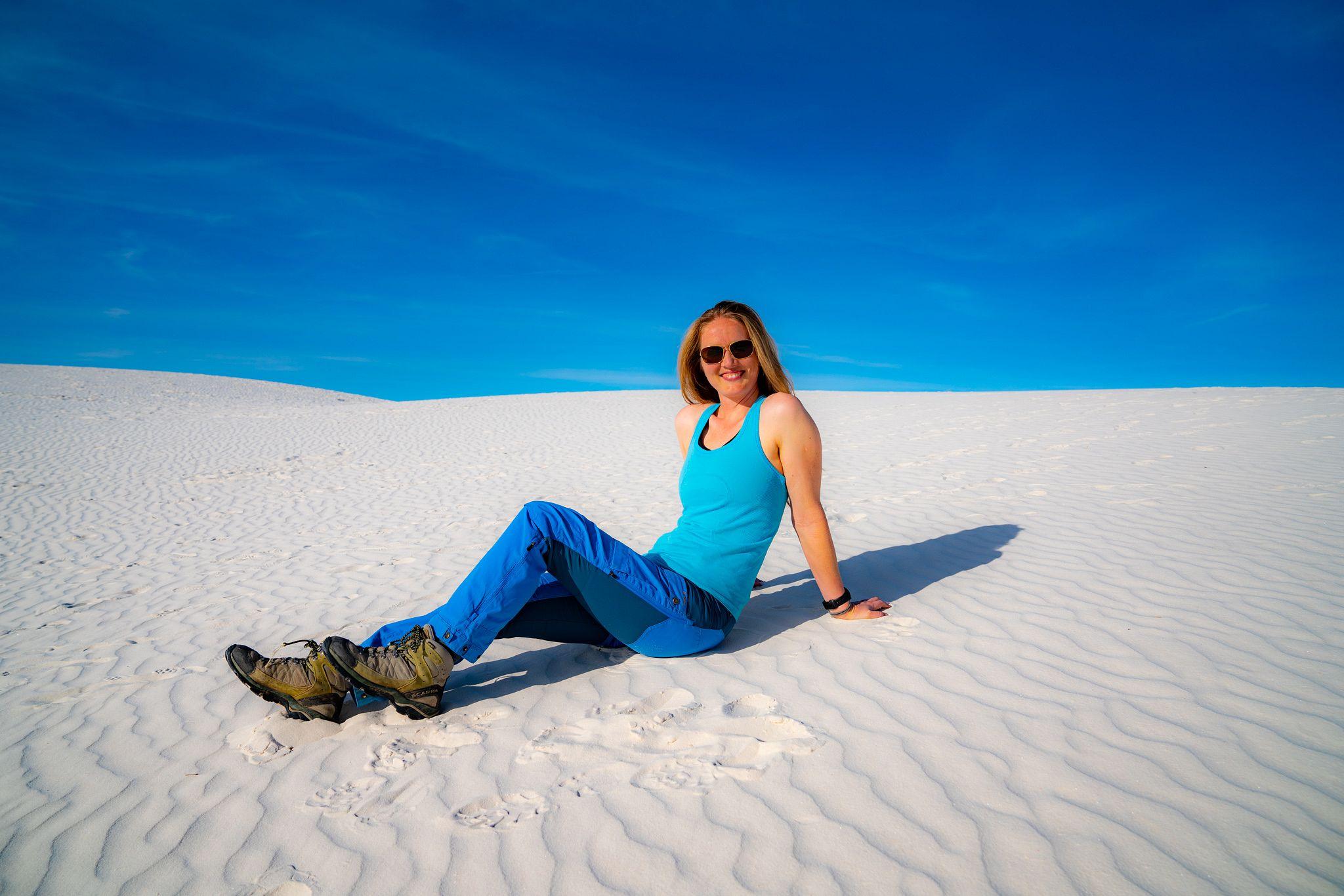 Sledding in the Dunes