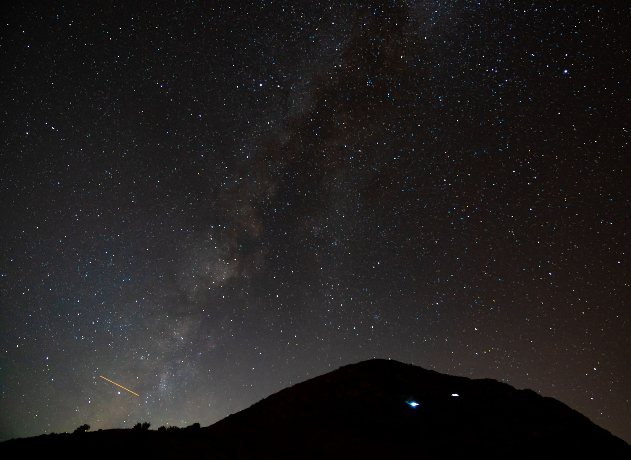 Milky Way at Guadalupe Mountains National Park