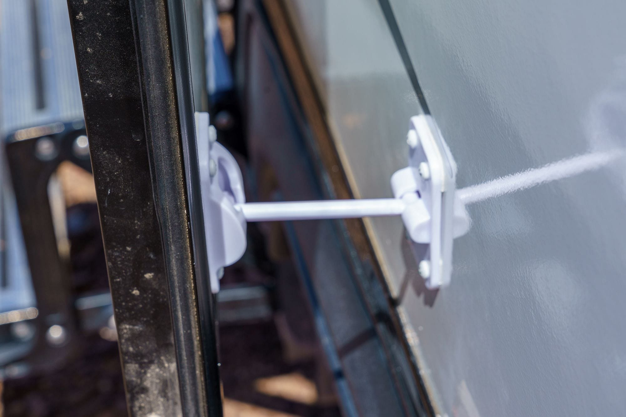 RV Latch and Keeper Installation