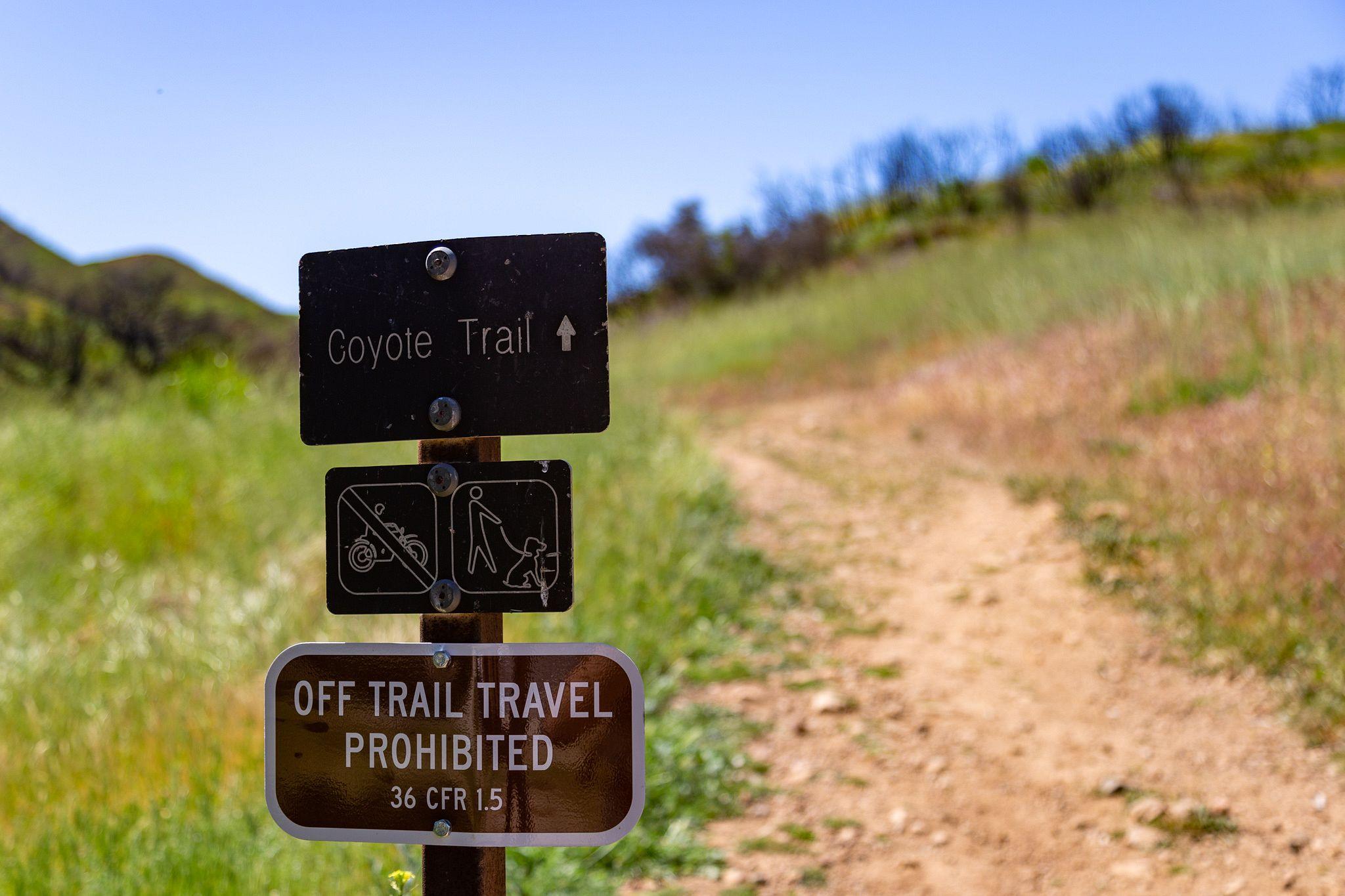 Coyote Trail at Paramount Ranch