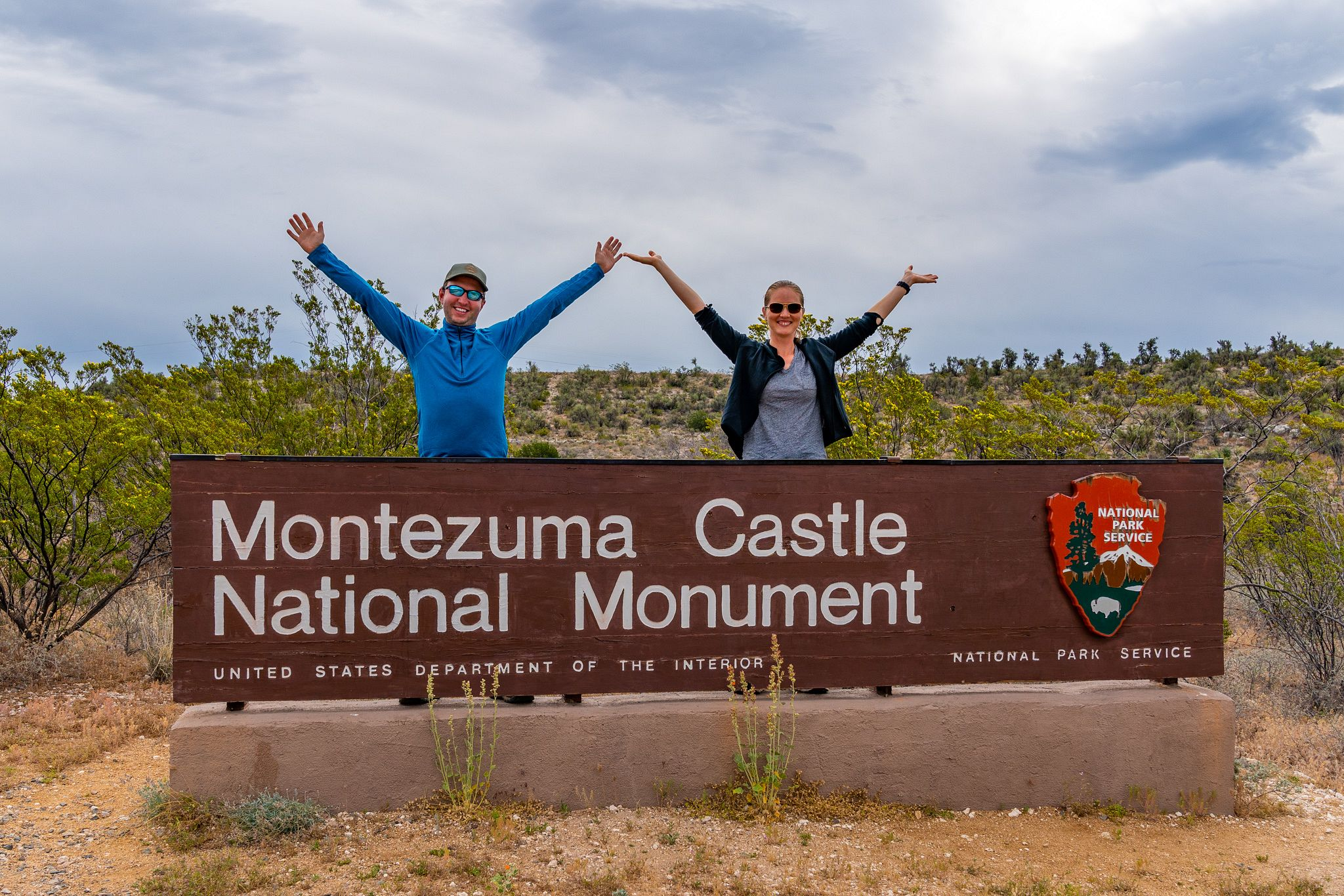 Montezuma Castle National Monument Sign