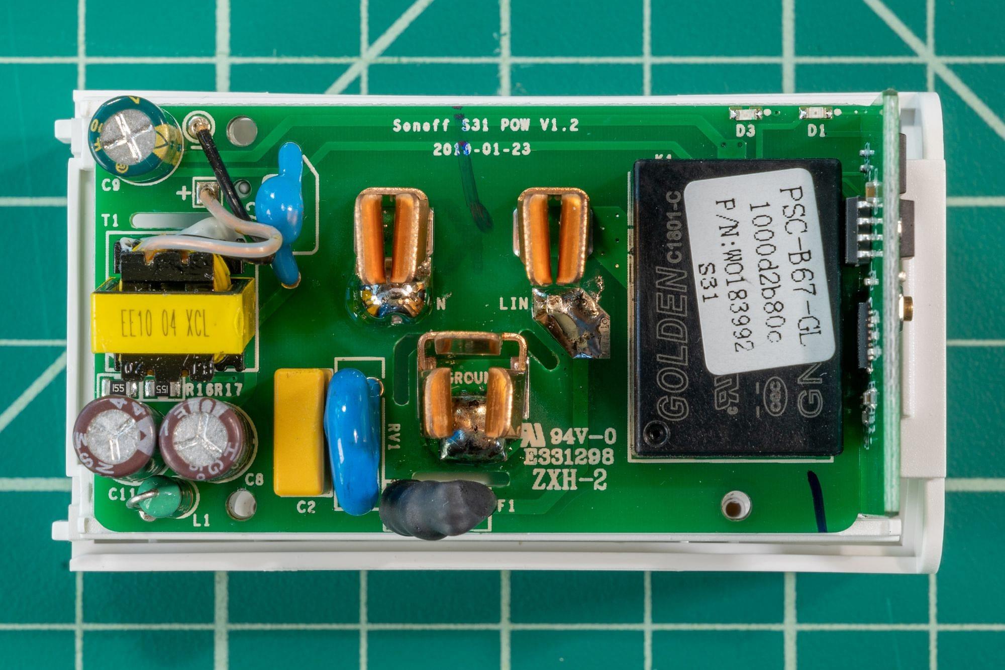 Sonoff S31 Circuit Board PCB