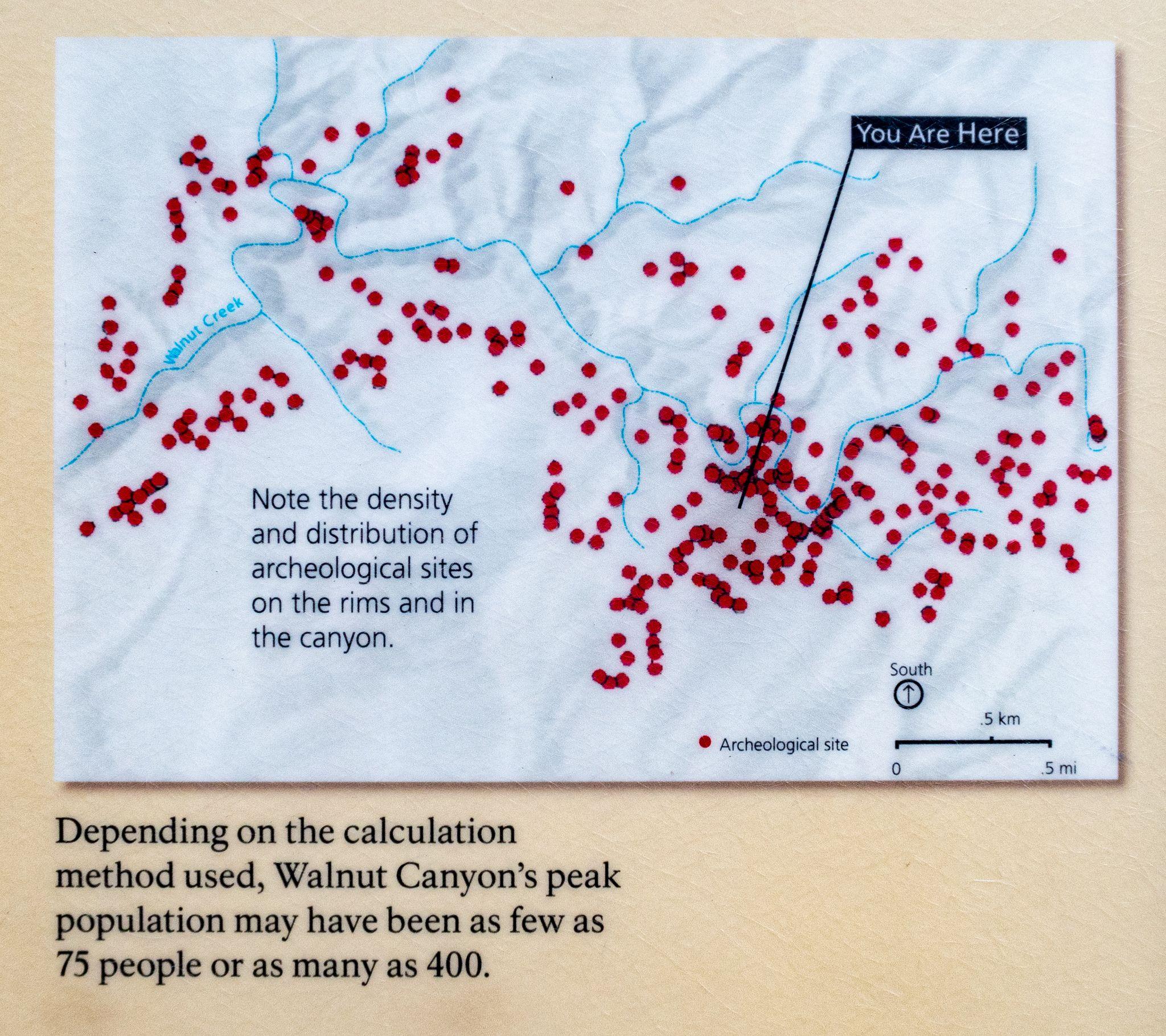 Walnut Canyon Archaeological Sites