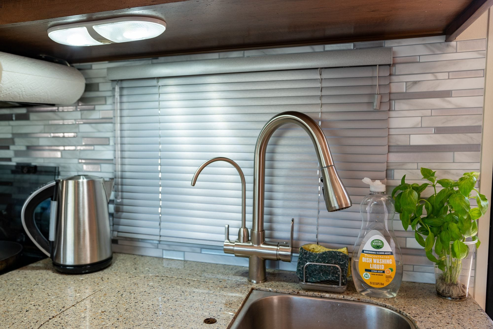 Replacement RV Kitchen Blind
