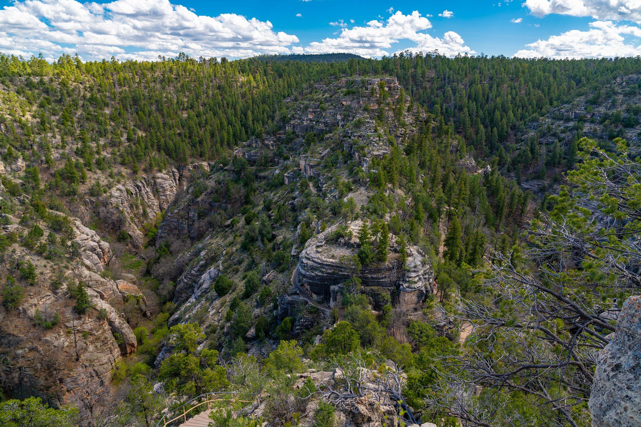Walnut Canyon Panorama