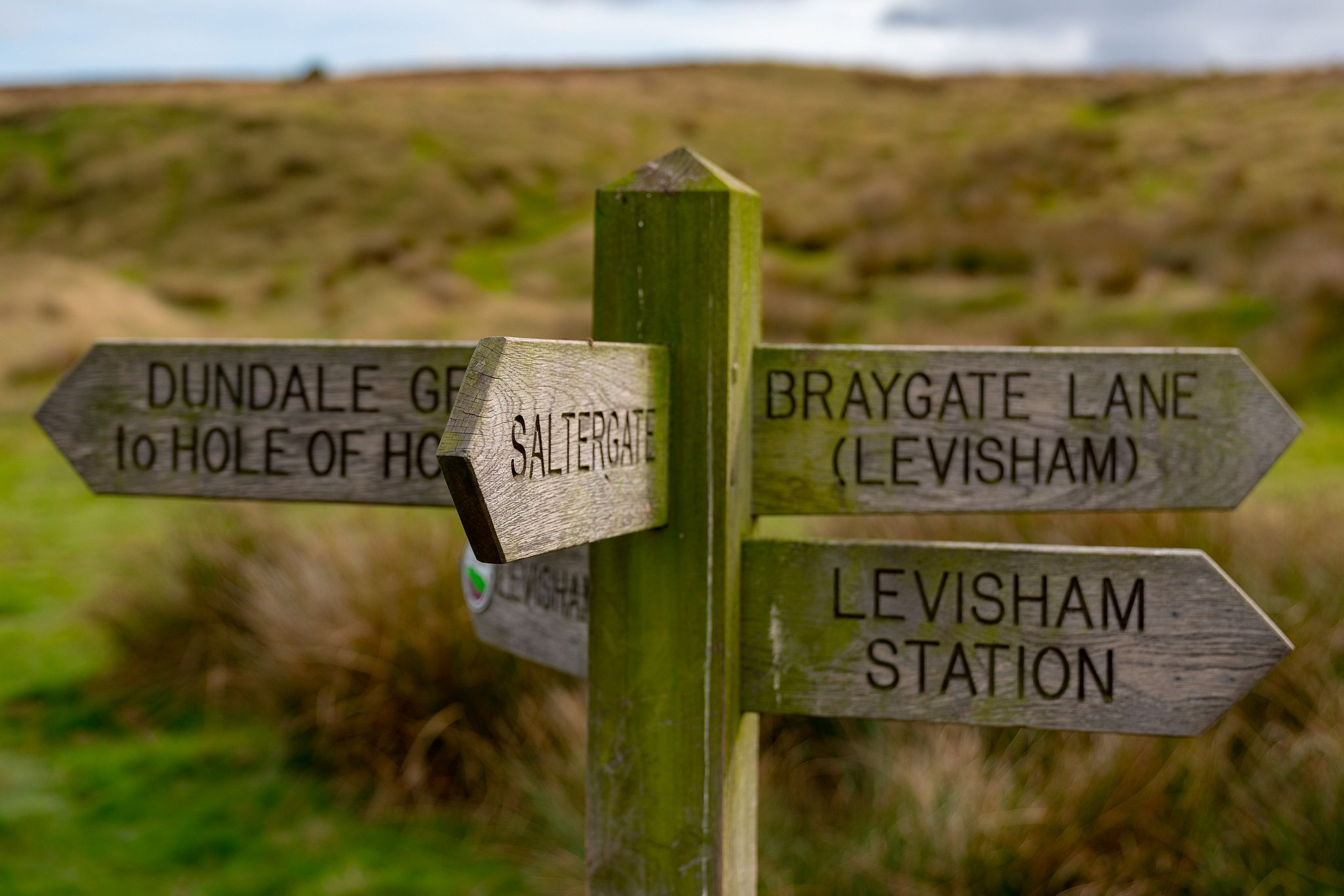 Hole of Horcum Signposts