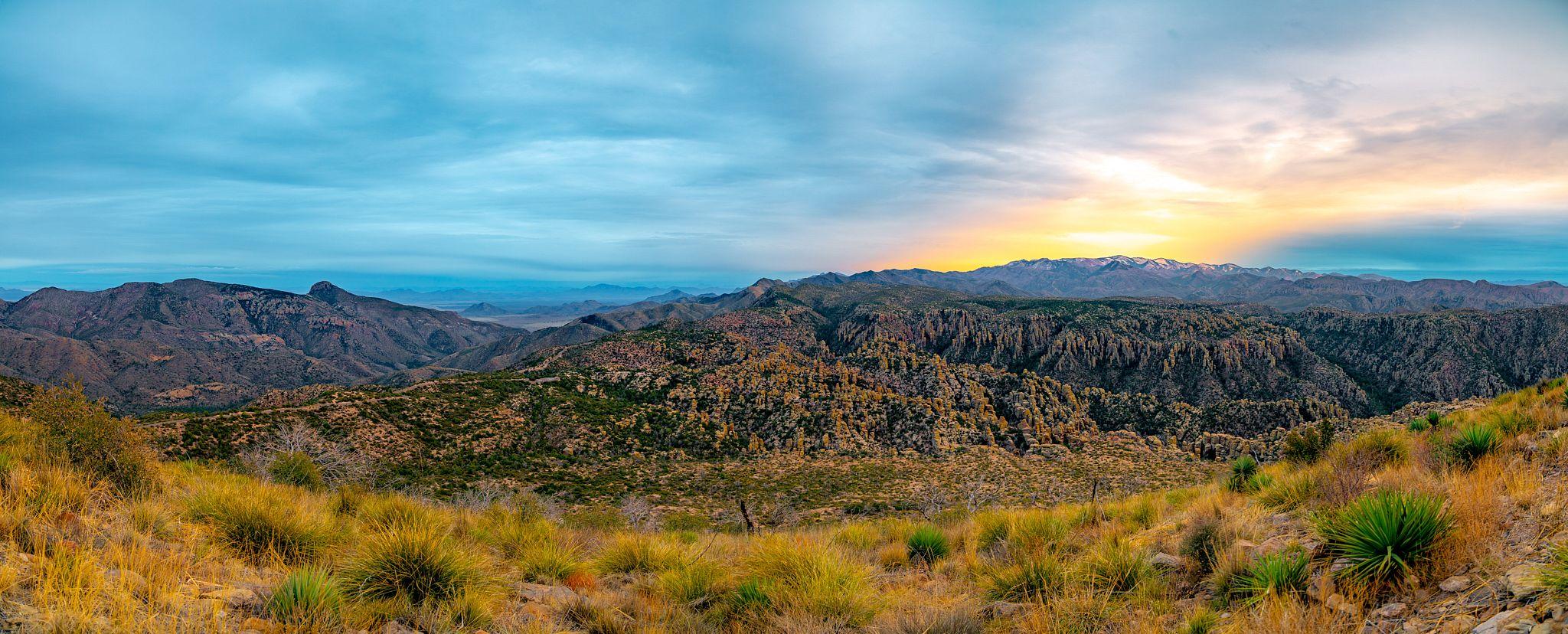 Sunset at Chiricahua National Monument
