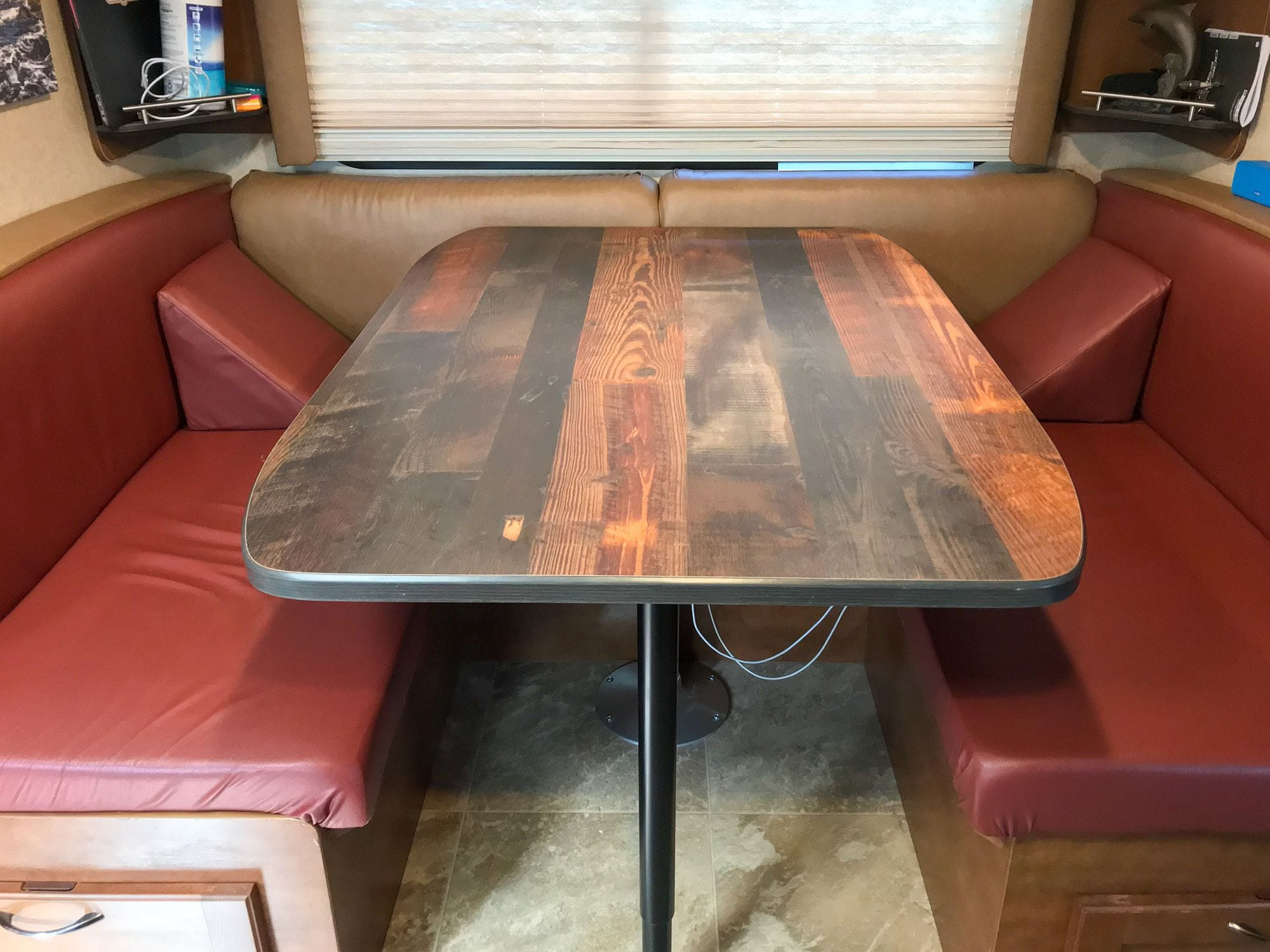 RV Dinette Upgrade